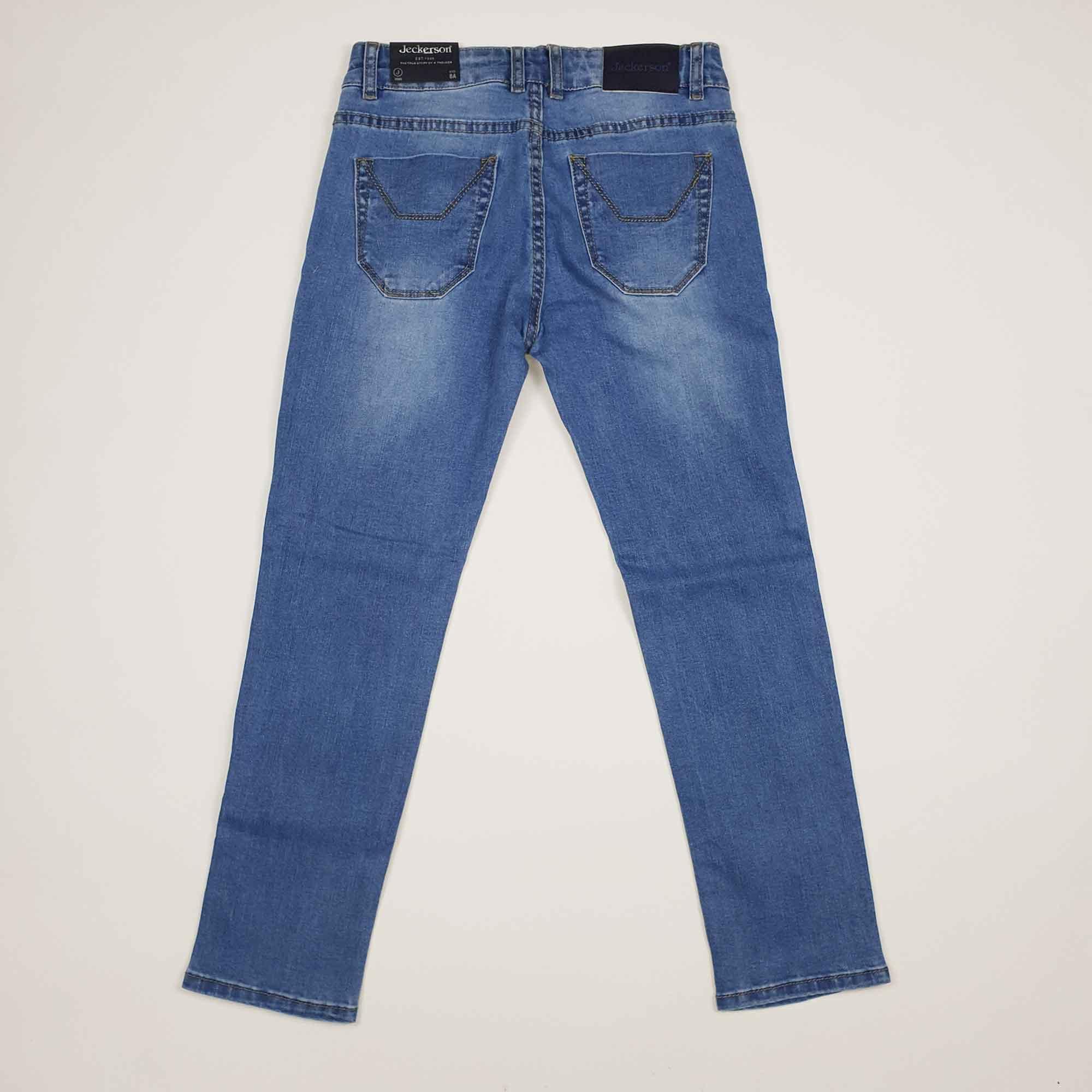 Jeans toppe fantasia geometric - Denim