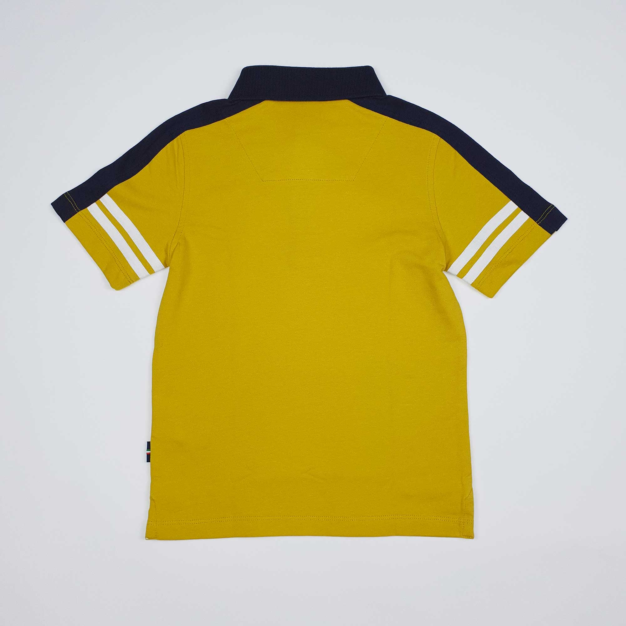 Polo patch logo - Giallo