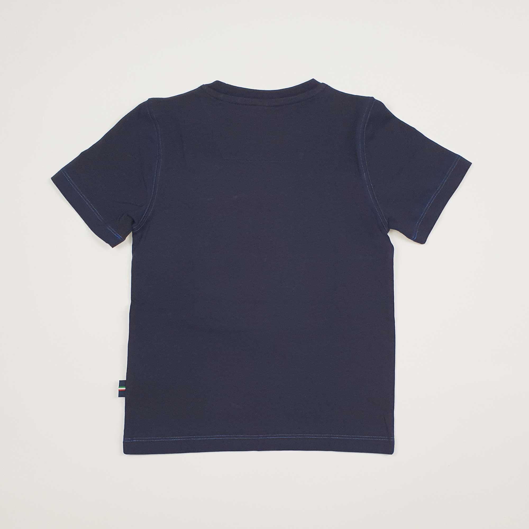 T-shirt ricamo logo - Blu