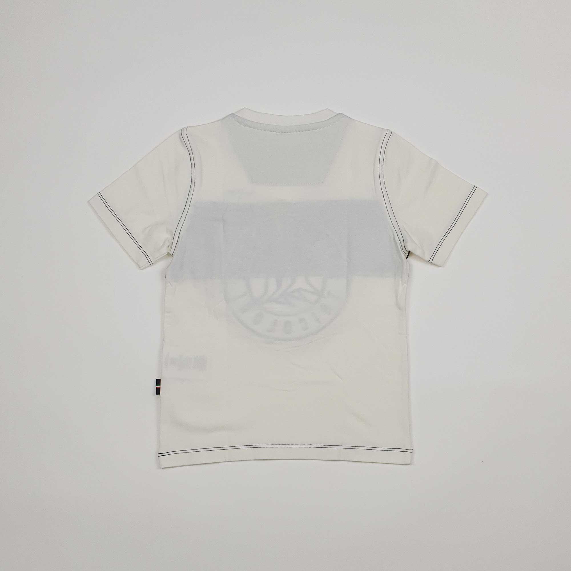 T-shirt ricamo logo - Bianco