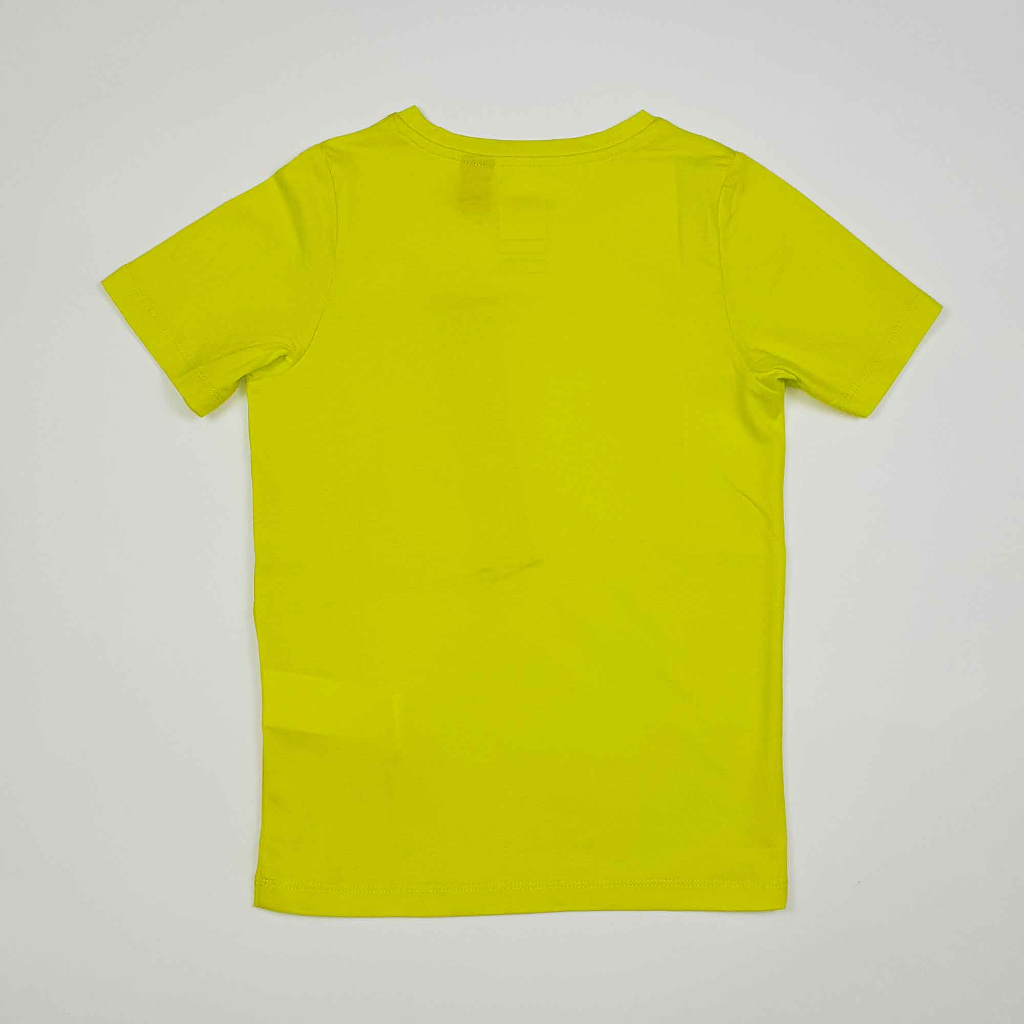 T-shirt le vrai isaie -Verde lime
