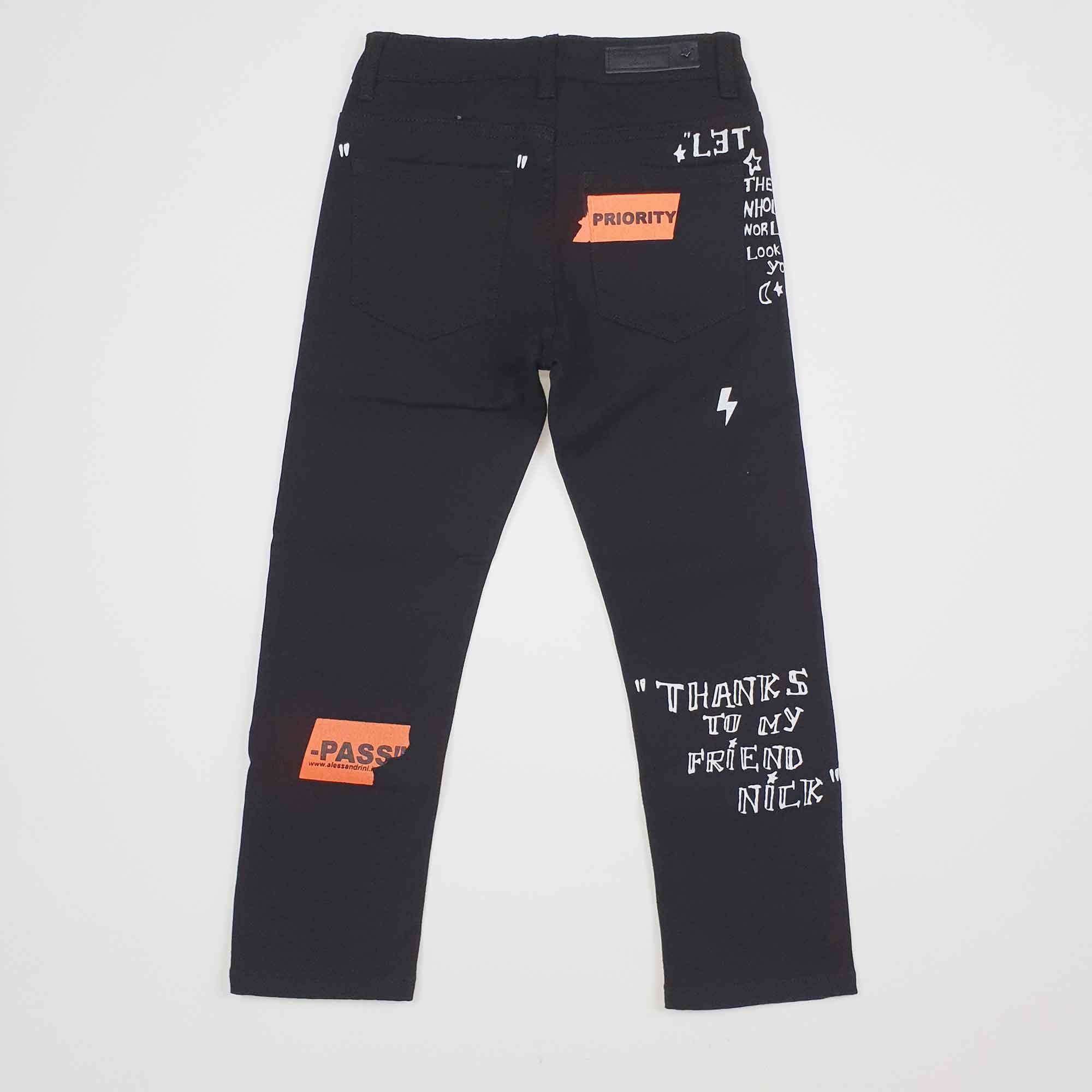 Pantalone priority - Nero