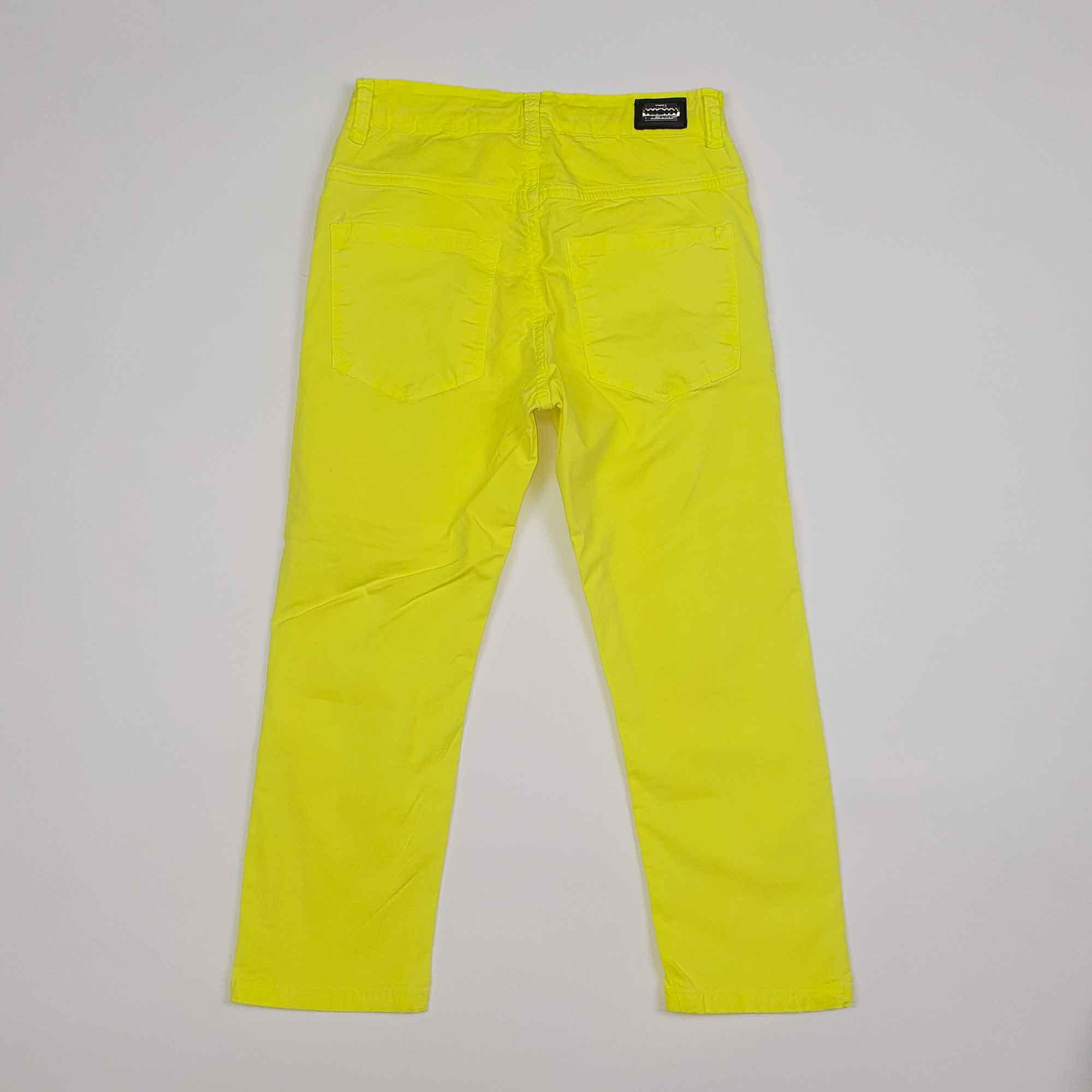 Pantalone rotture - Giallo fluo