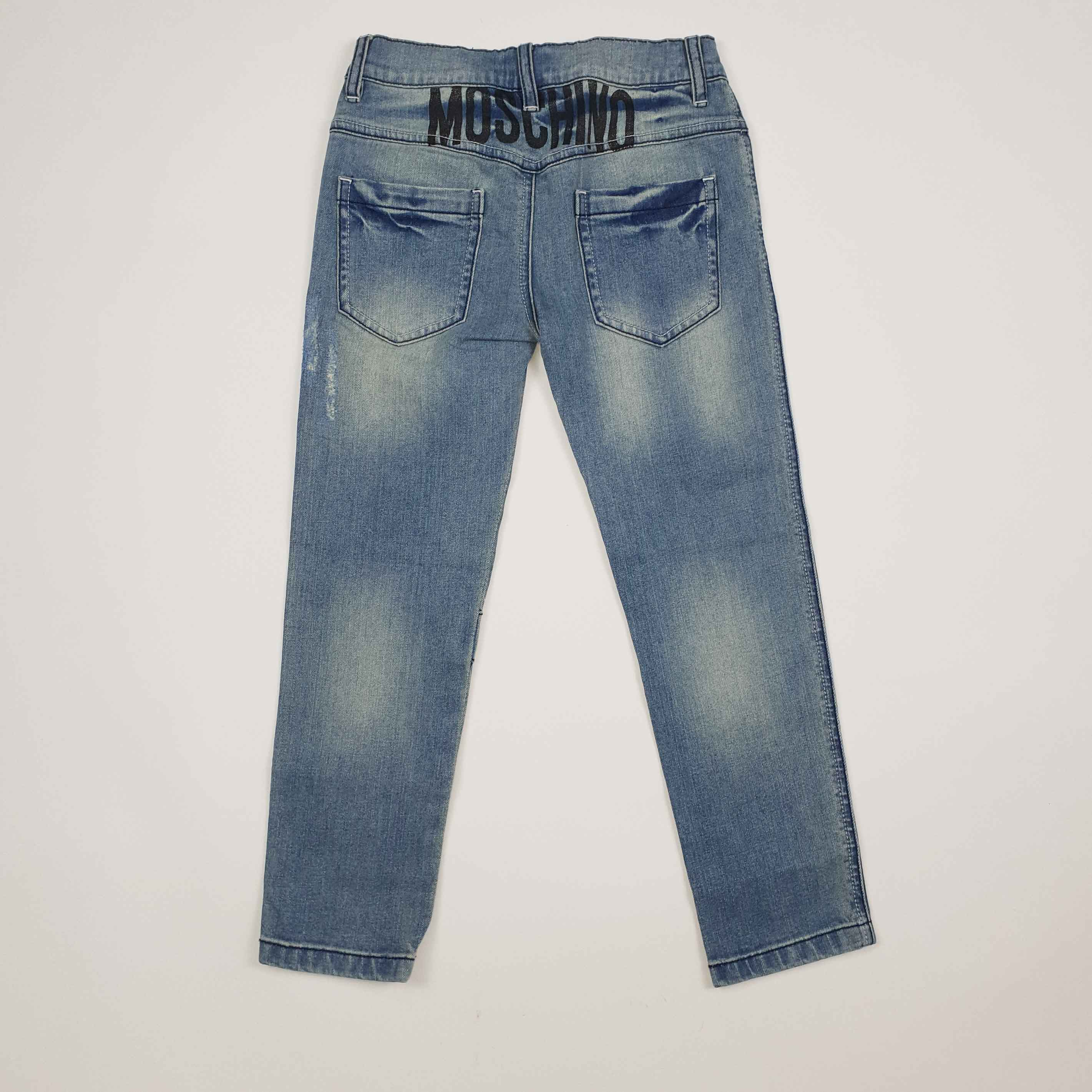 Jeans con rotture - Denim