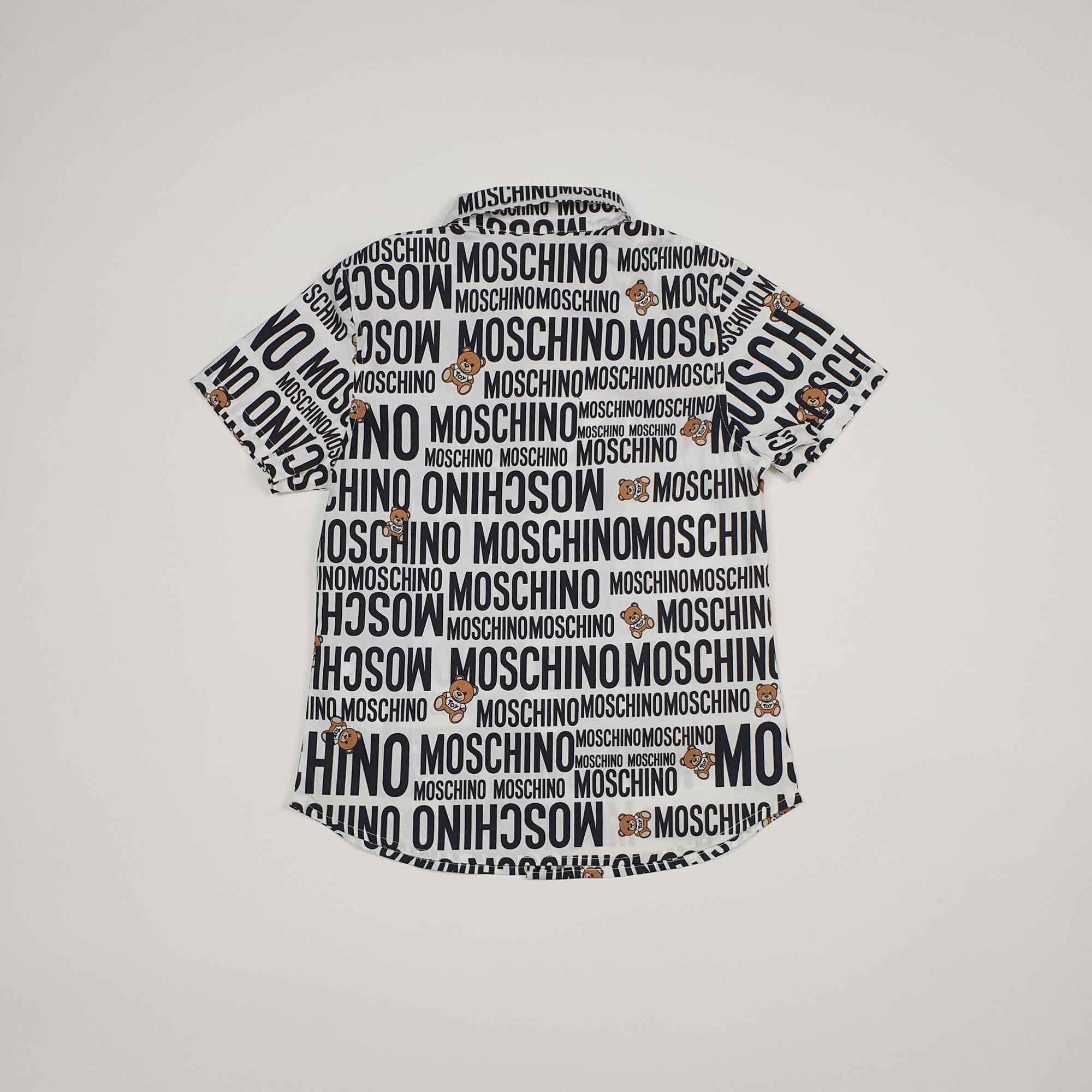 Camicia logo toy - Bianco