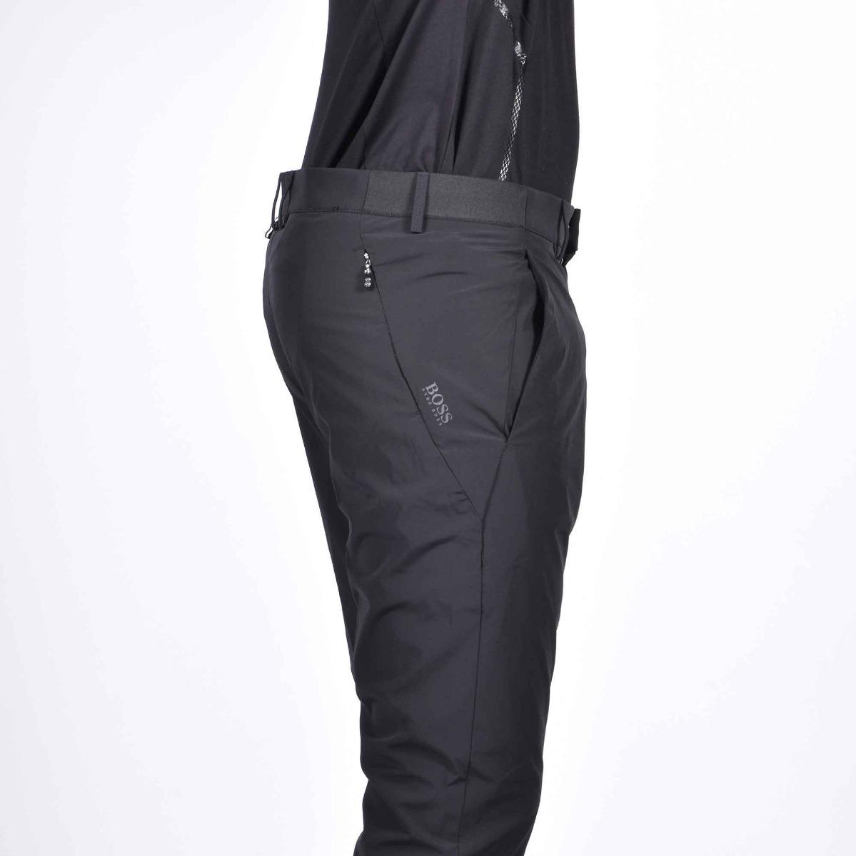 Pantalone tessuto tecnico - Nero
