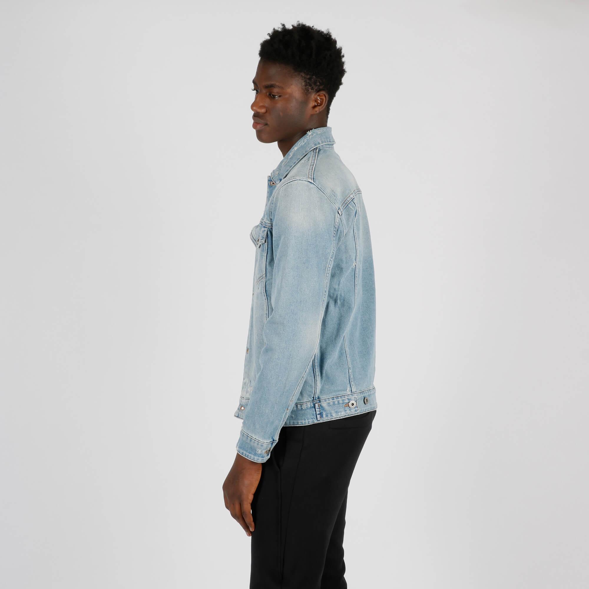 Giubbino in jeans - Denim chiaro