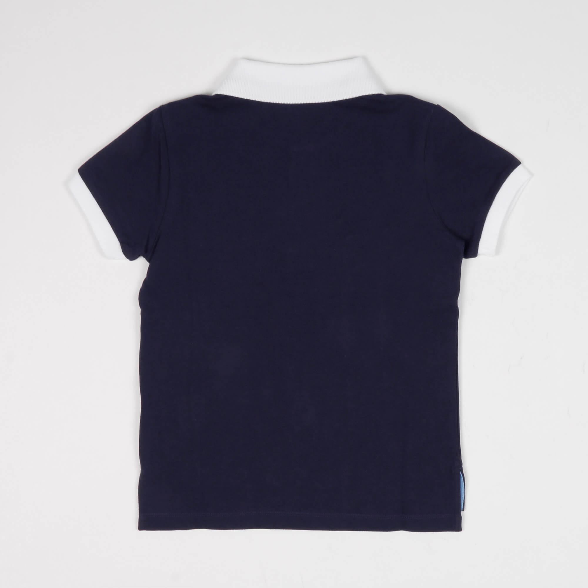 Polo logo - Blu