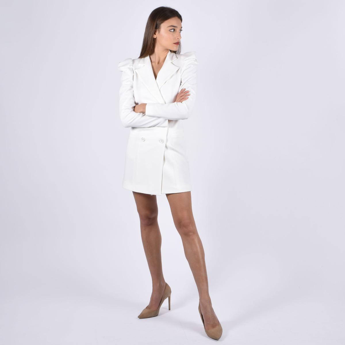 Jacket dress clod- Bianco