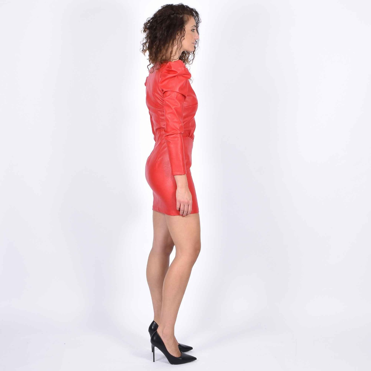 Elsy dress - Rosso