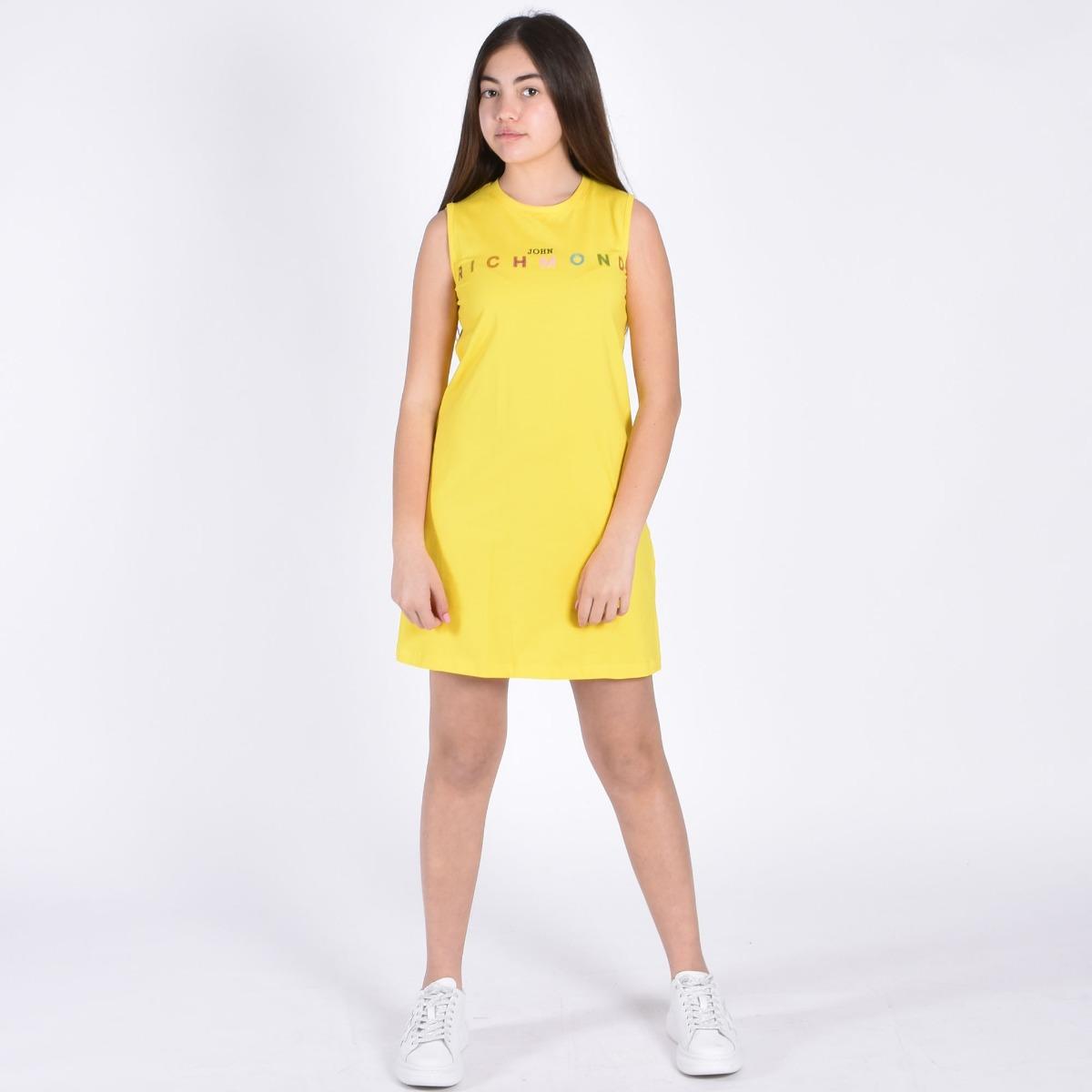 Dress lewis- Giallo
