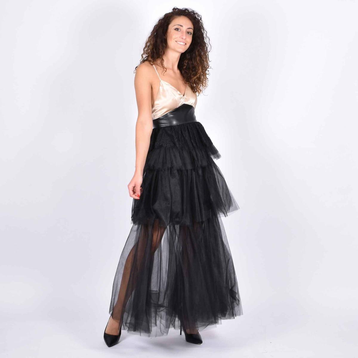 Long dress astrid - Nero