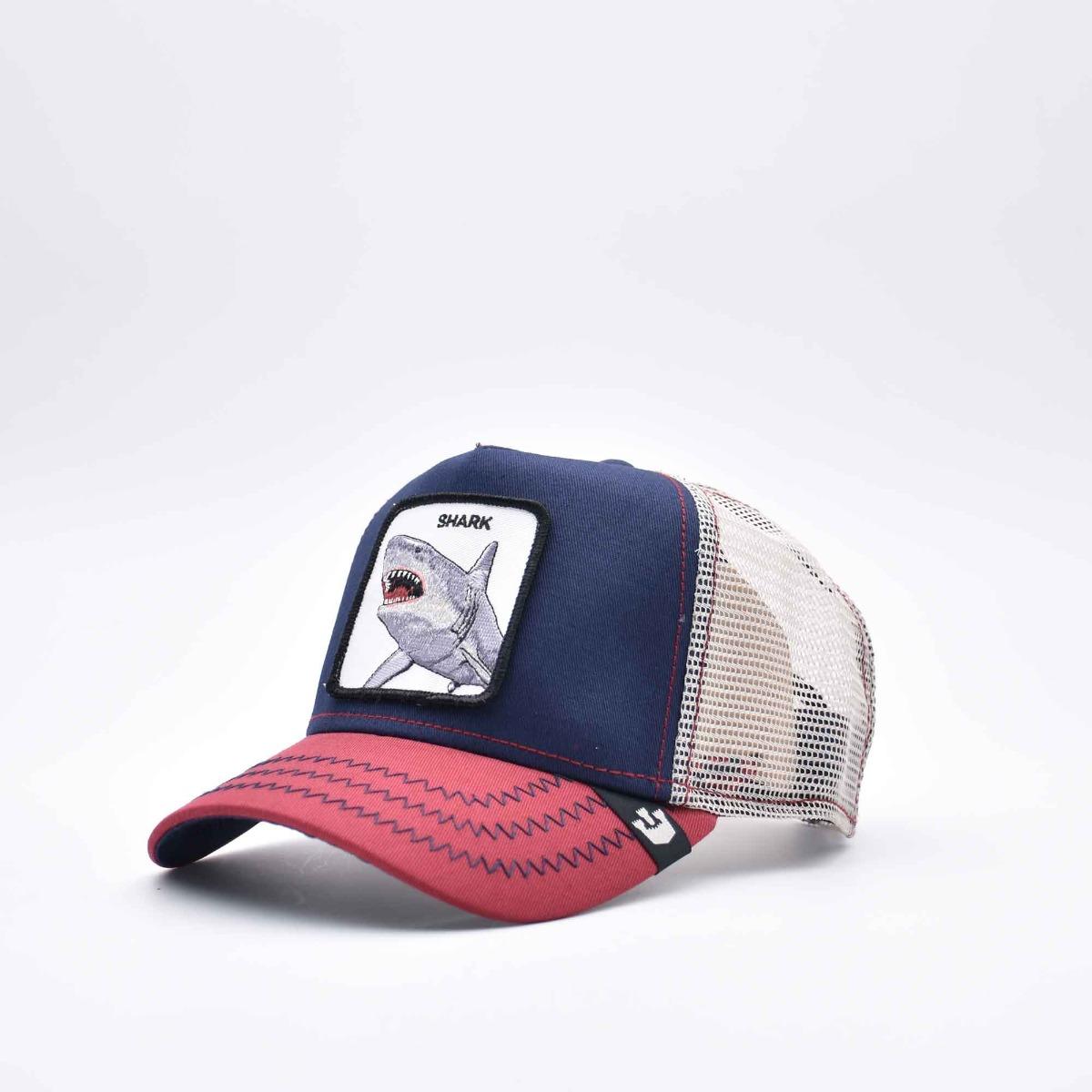 Baseball shark- Blu/ Rosso