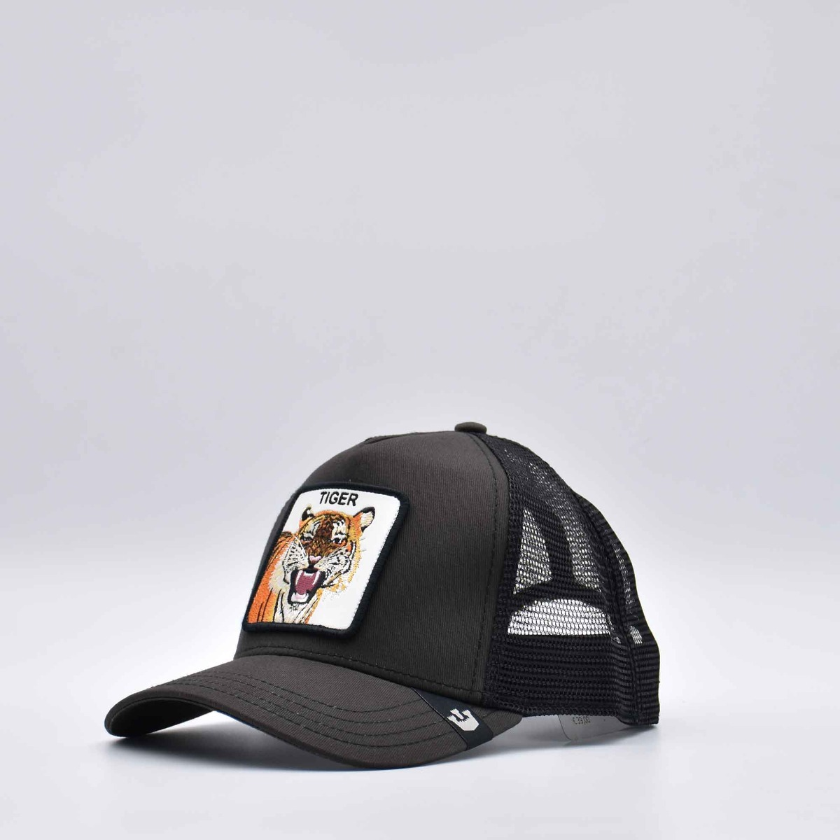 Cappello baseball tiger- Nero