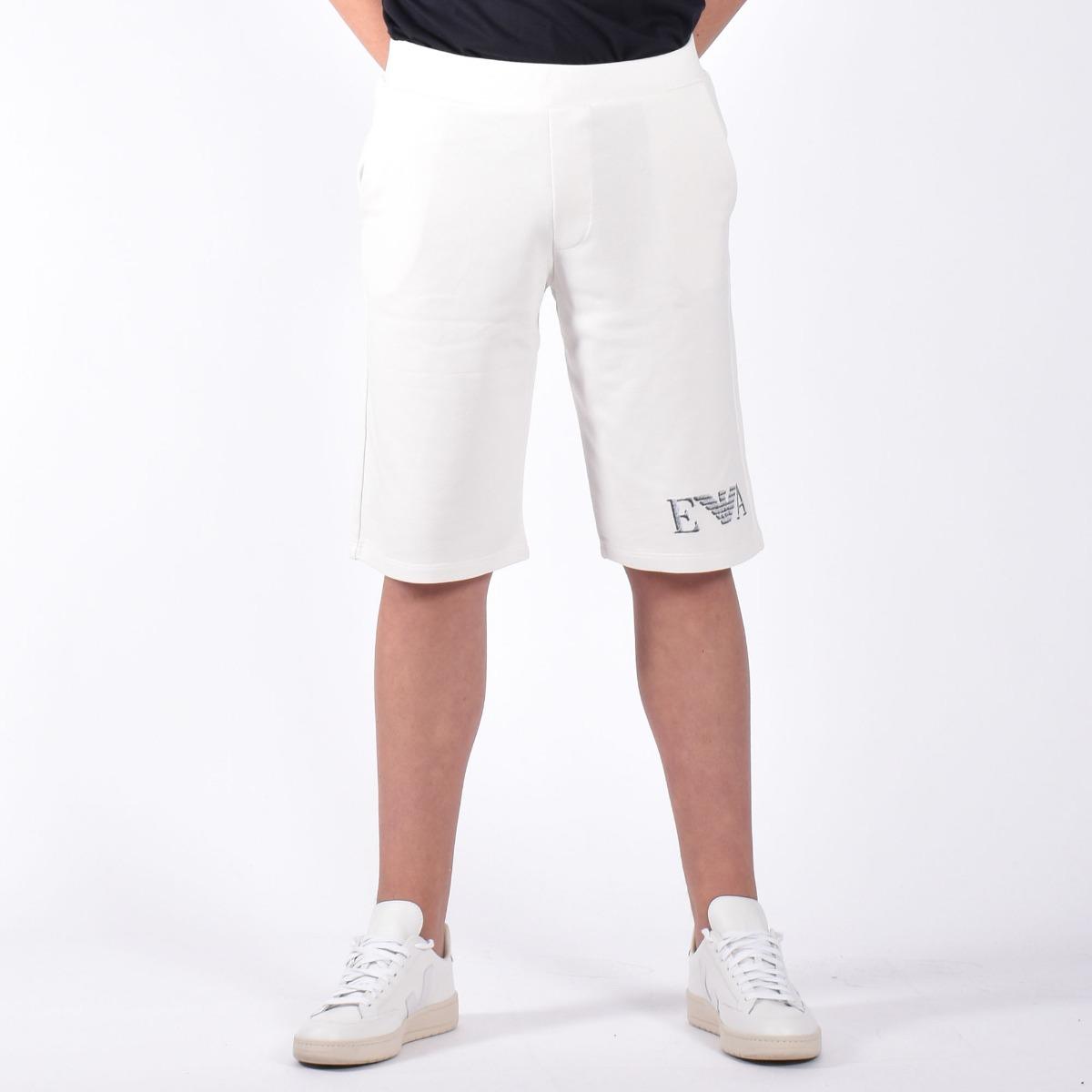 Bermuda felpato - Bianco