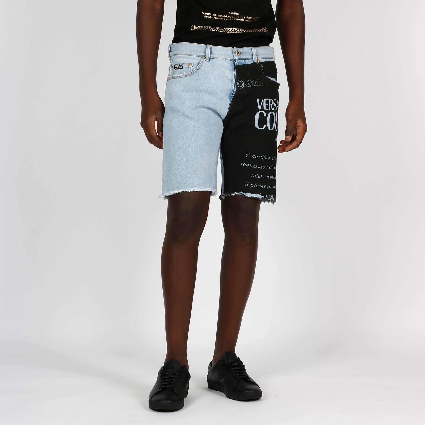 Bermuda jeans logo garanzia - Denim