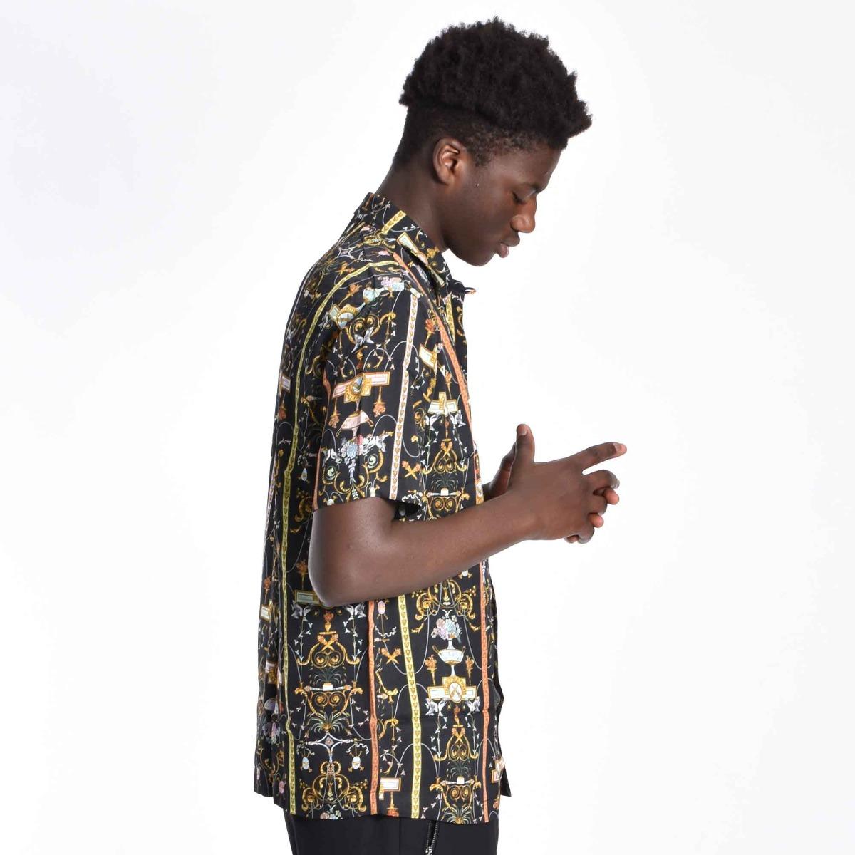 Camicia barocco - Nero
