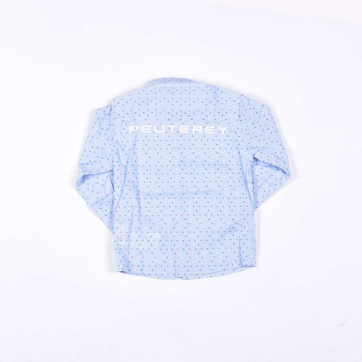 Camicia con stelle - Azzurra