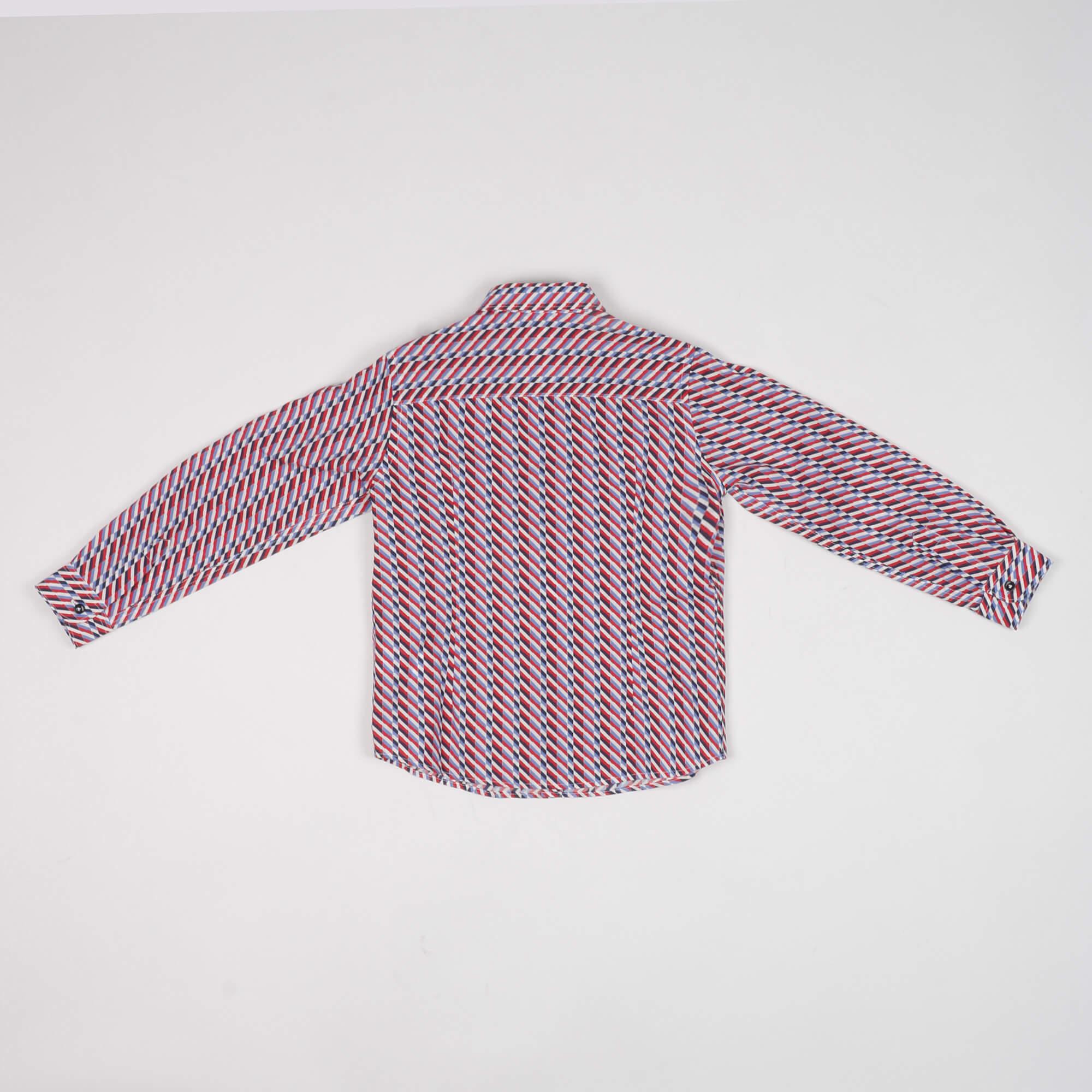 Camicia fantasia - Rosso