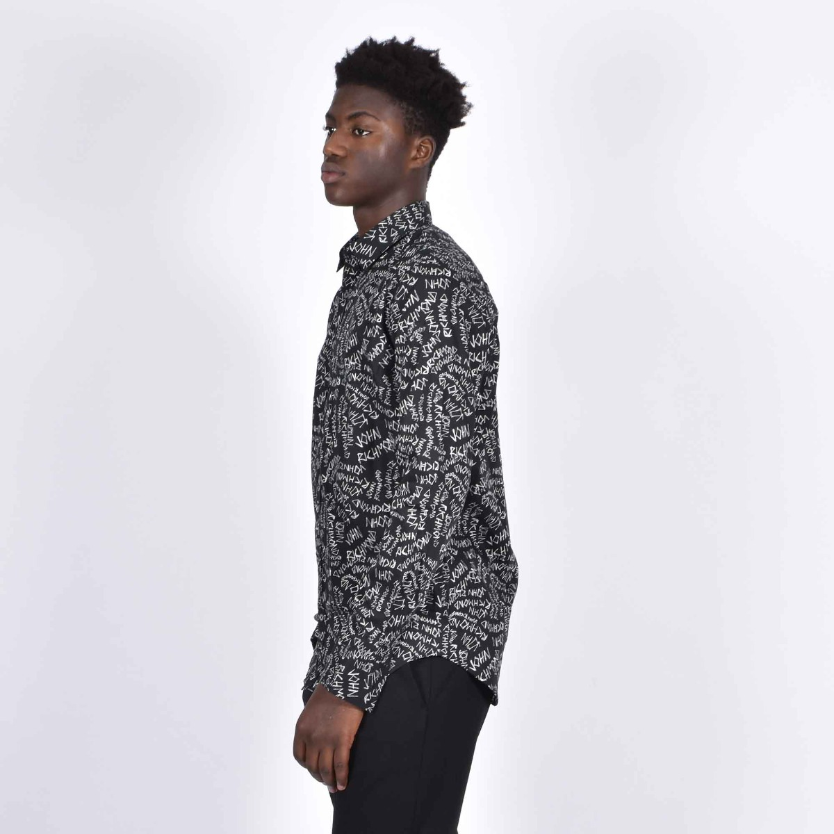 Camicia loa rich - Nero