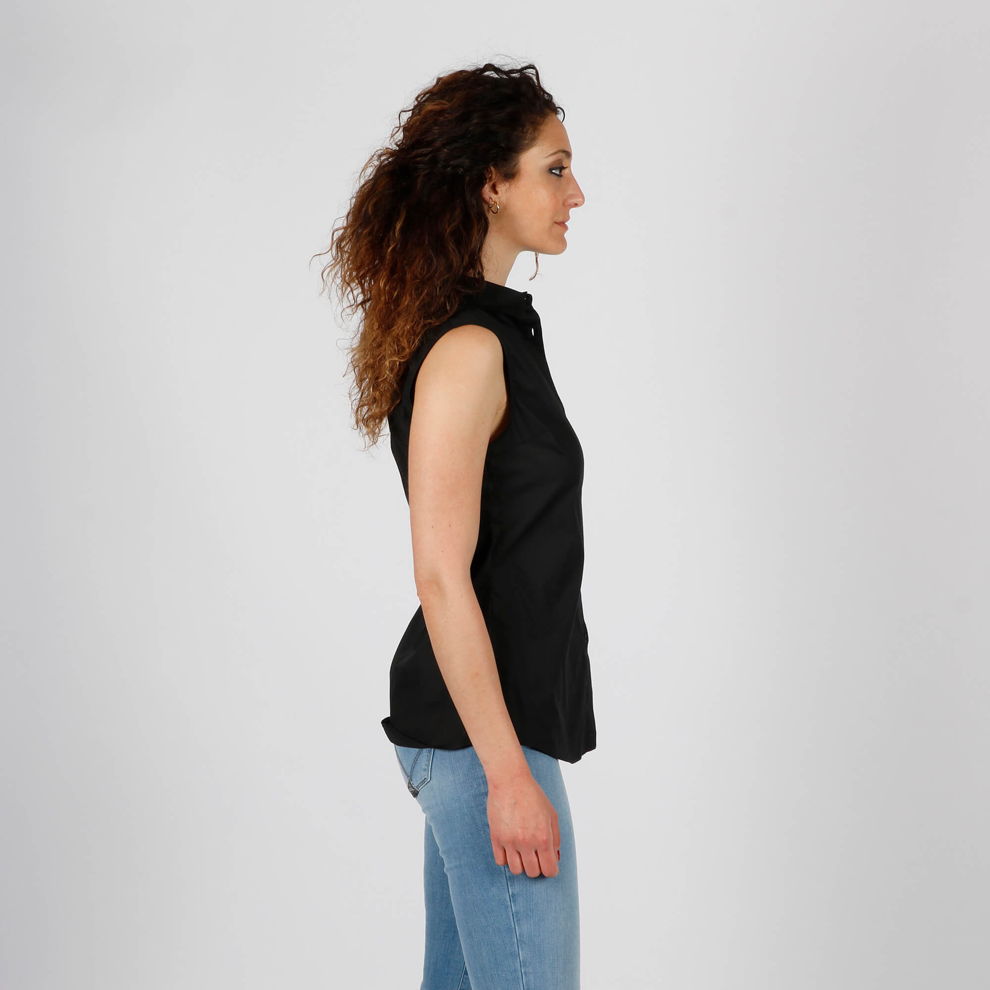 Camicia logo cuore - Nero