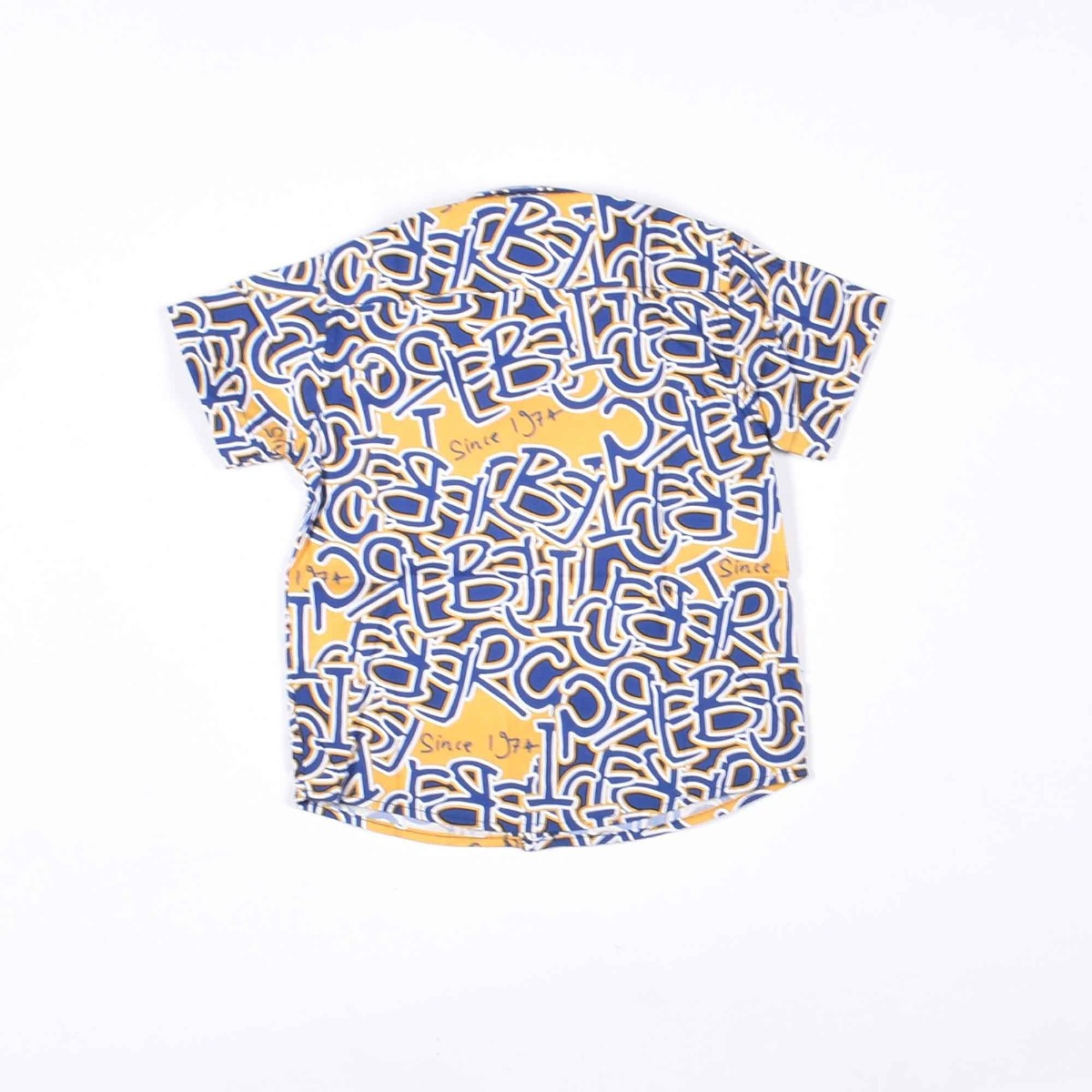 Camicia logo cartoon - Blu