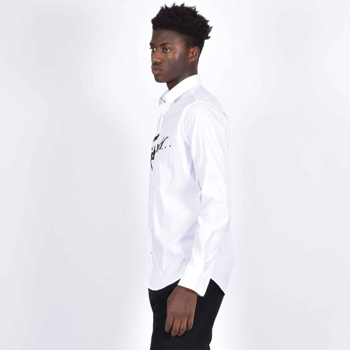 Camicia mauga - Bianco