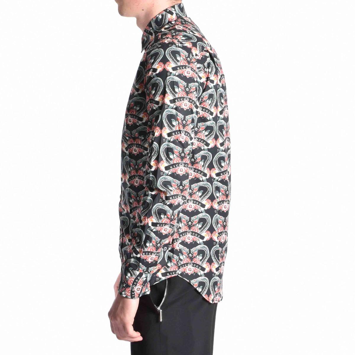 Camicia viridian - Nero
