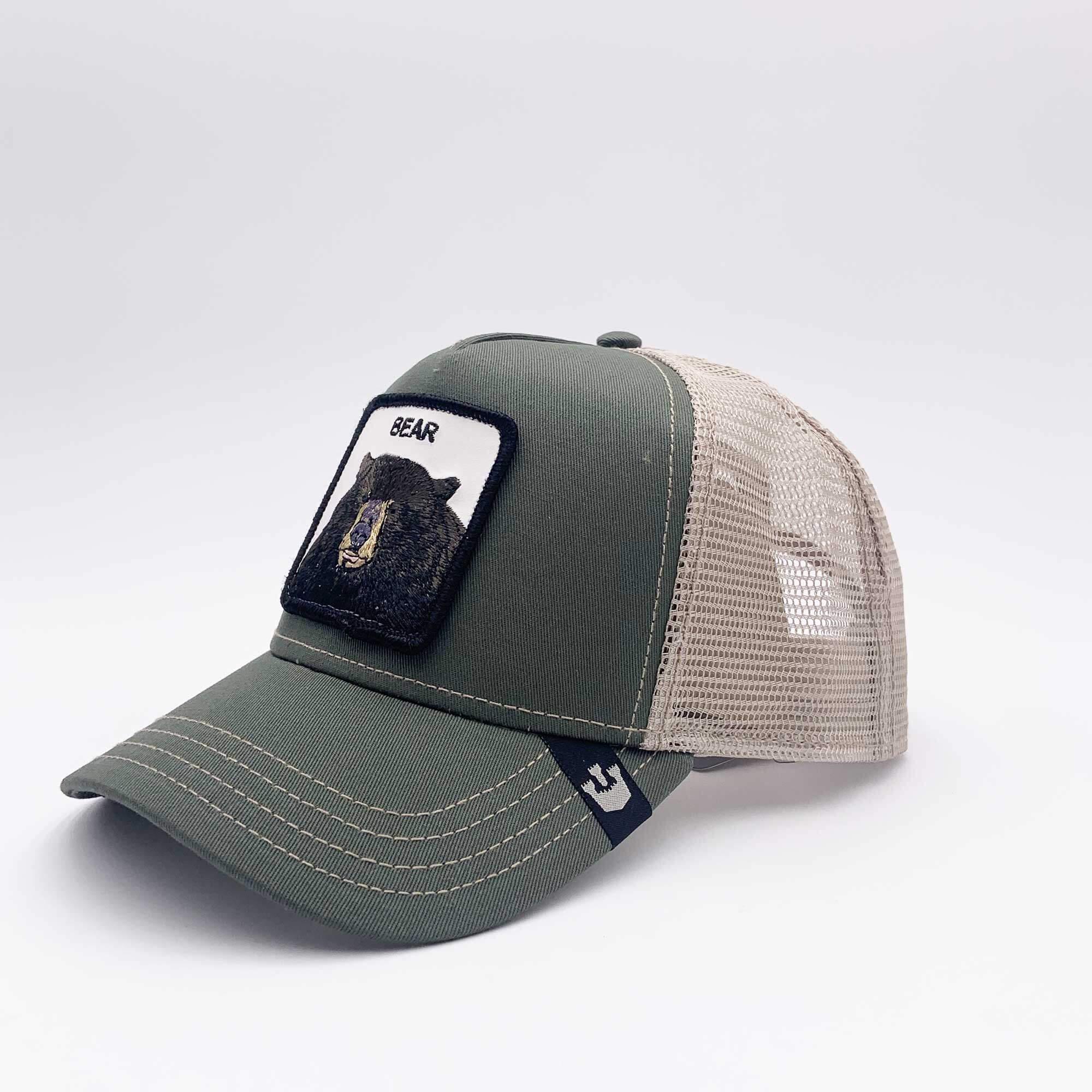 Cappello baseball bear - Verde oliva