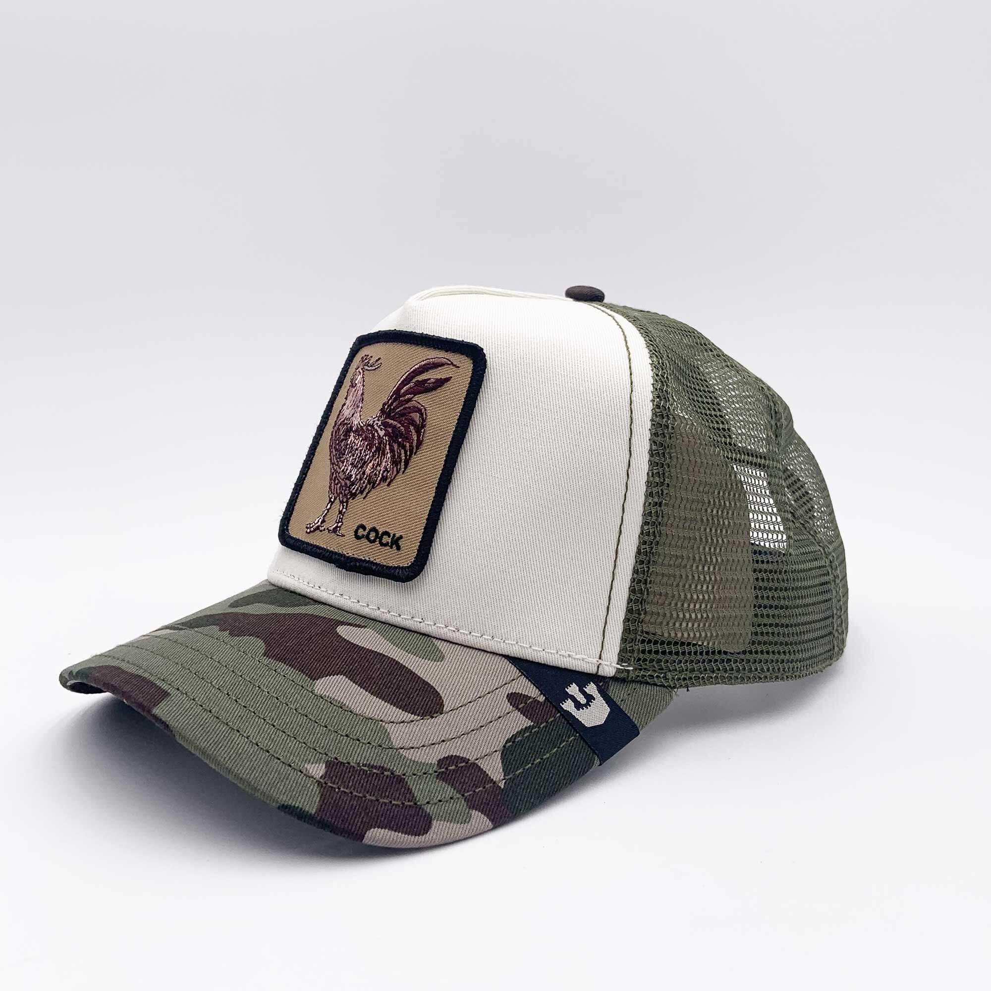 Cappello gallo cock - Verde militare