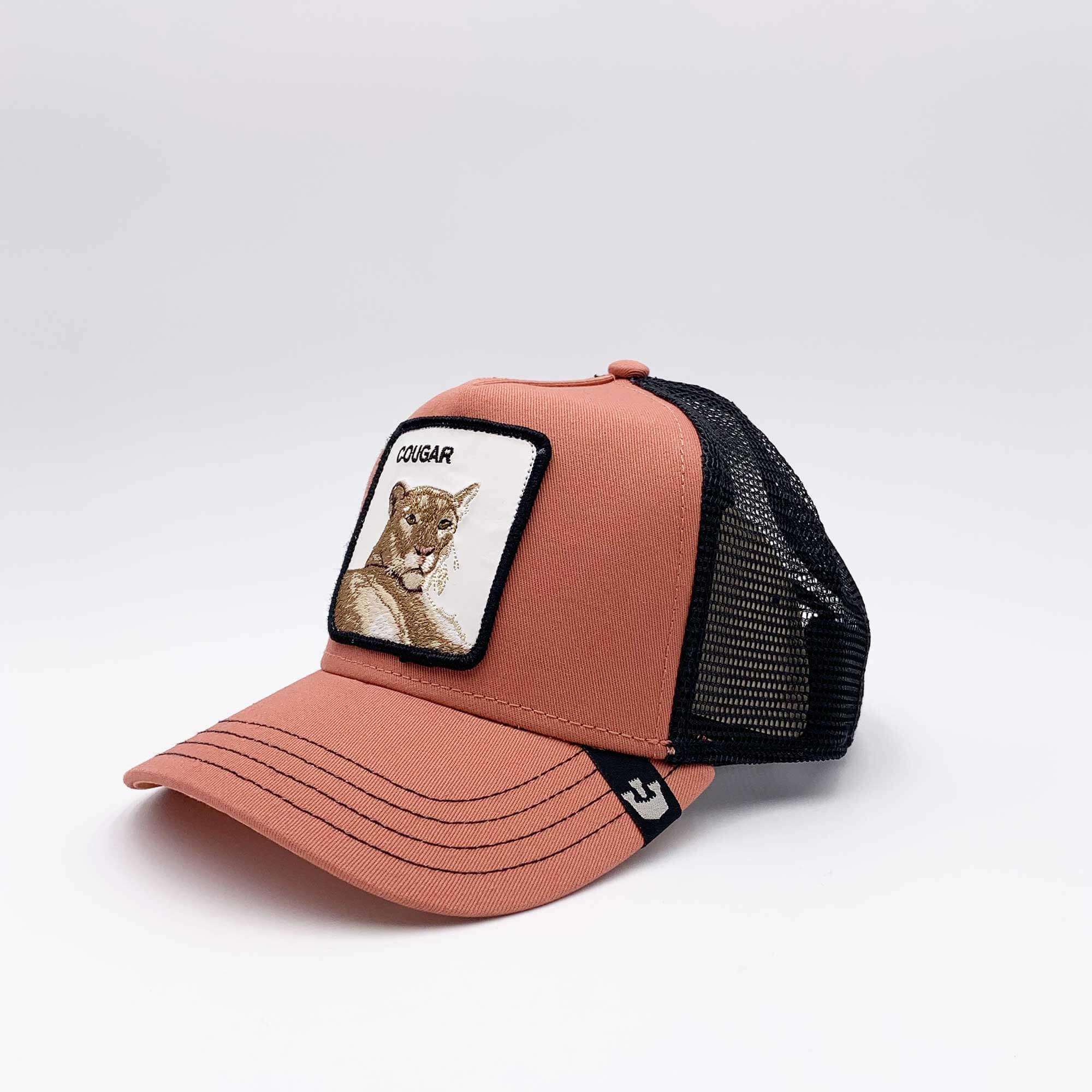 Cappello baseball cougar - Corallo