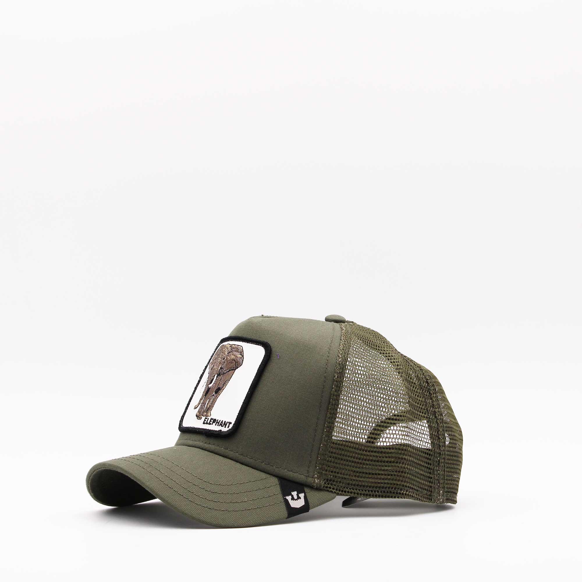 Cappello baseball elephant - Verde