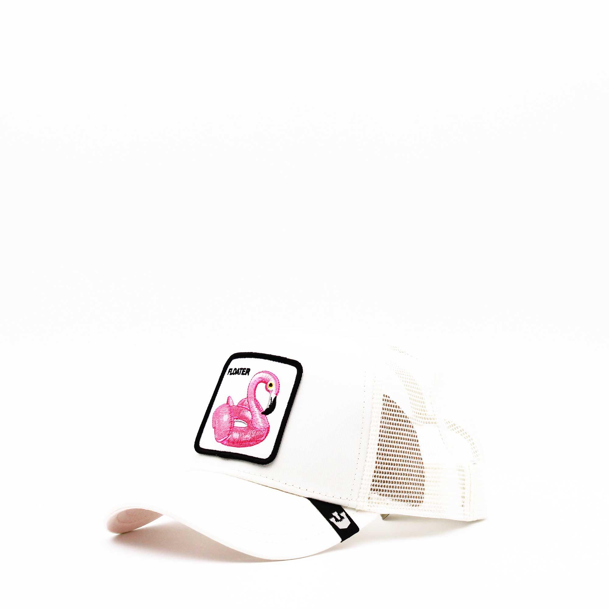 Cappello baseball floater- Bianco