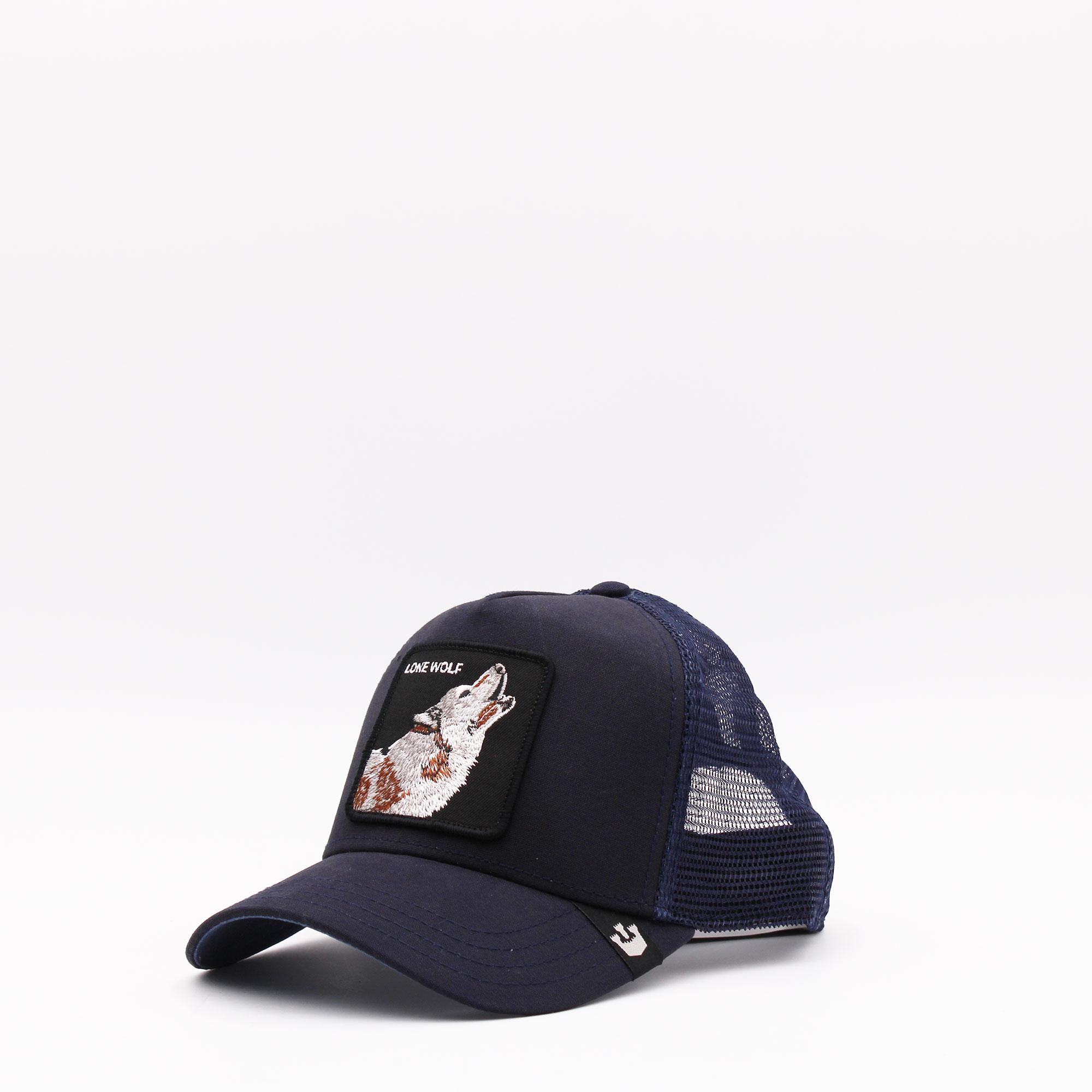 Cappello baseball lone wolf - Blu