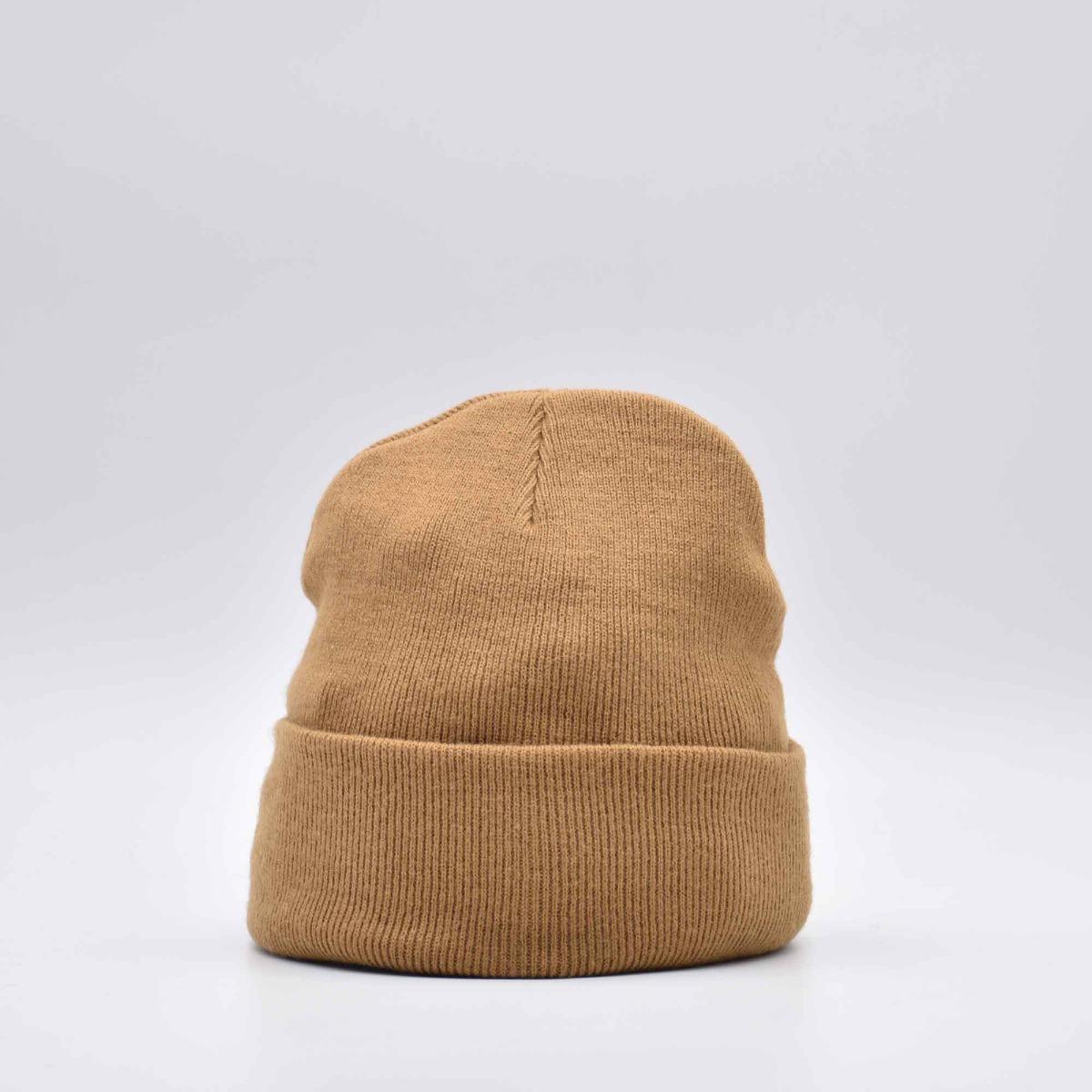 Berretto maglia roo- Cammello