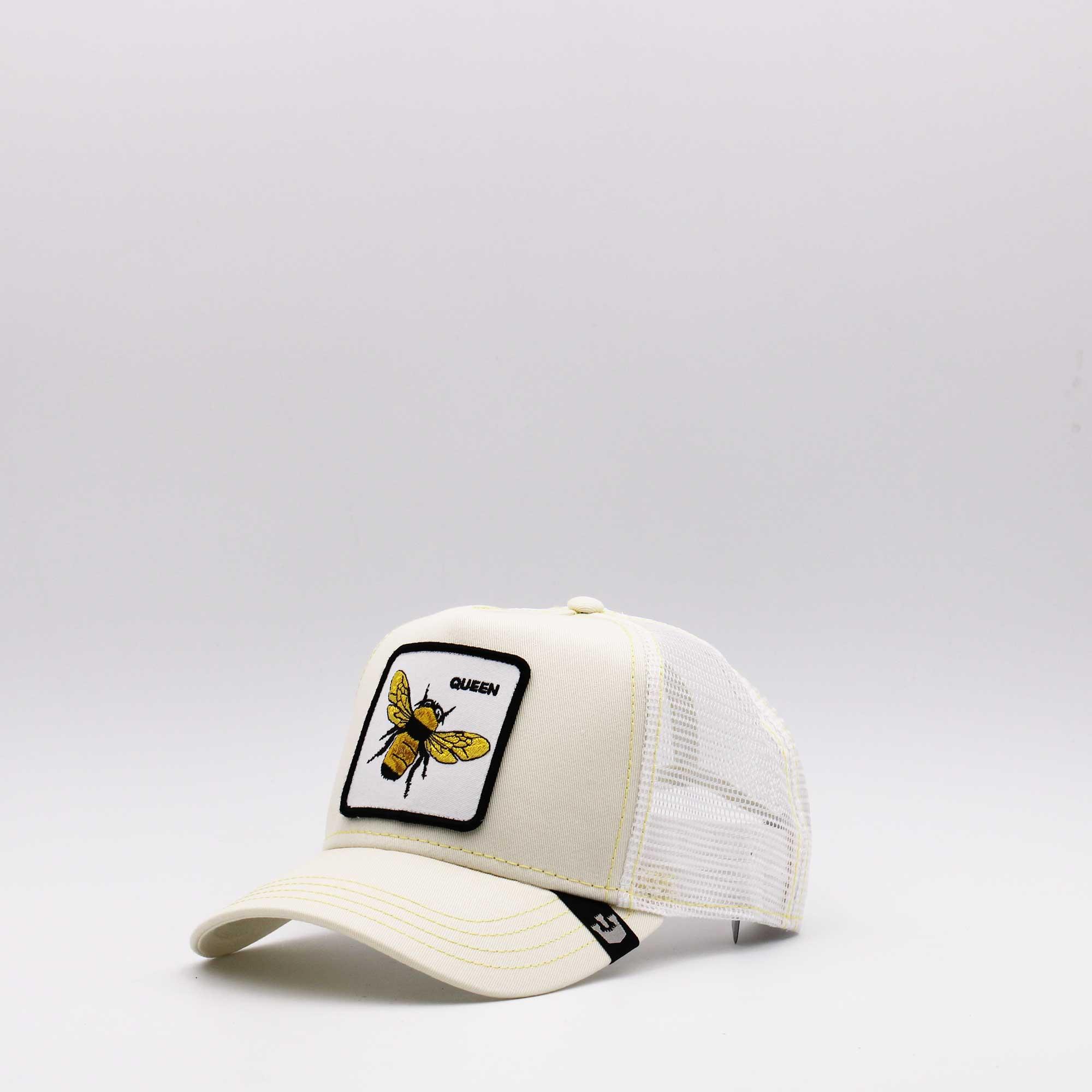 Cappello baseball queen ape - Bianco