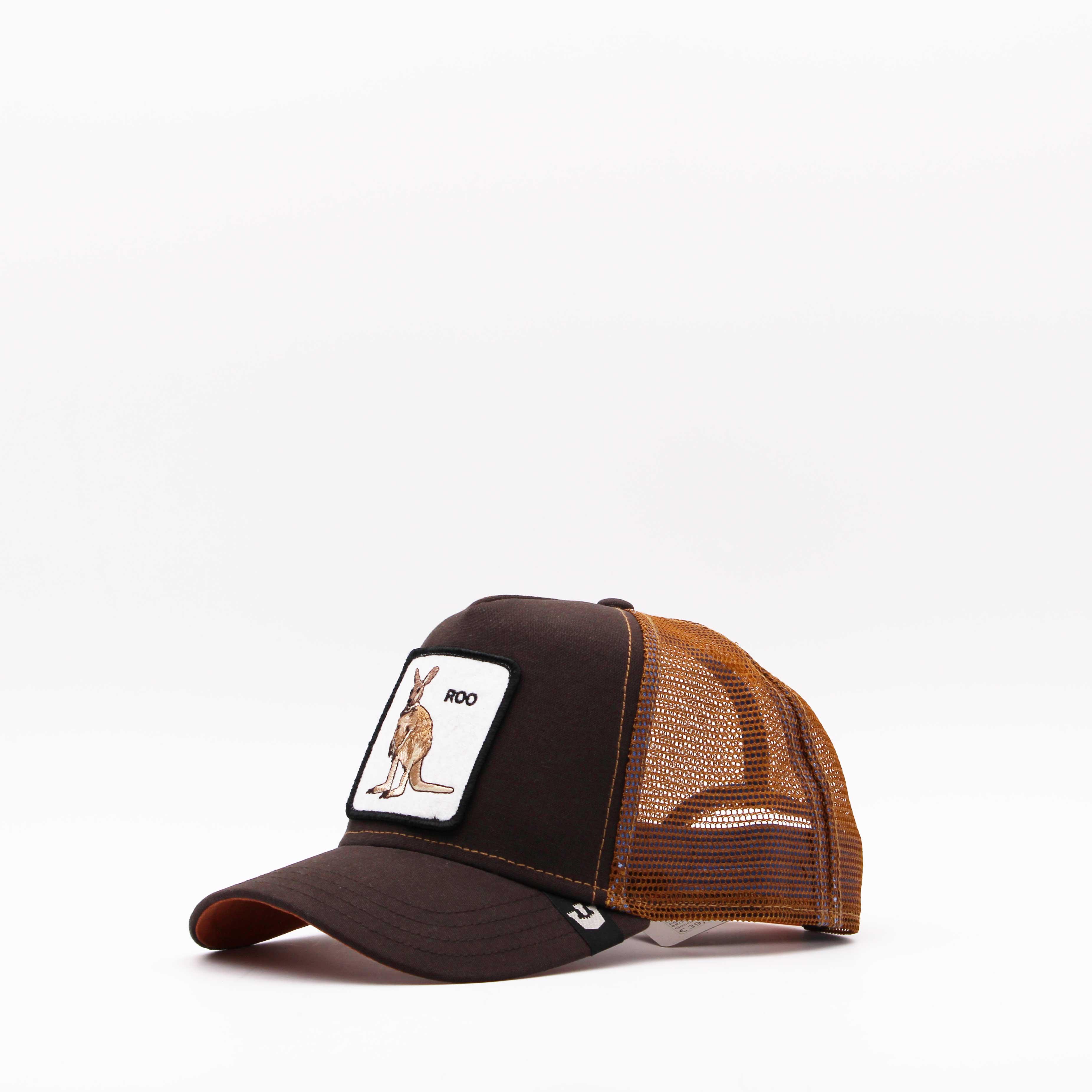 Cappello baseball roo - Marrone
