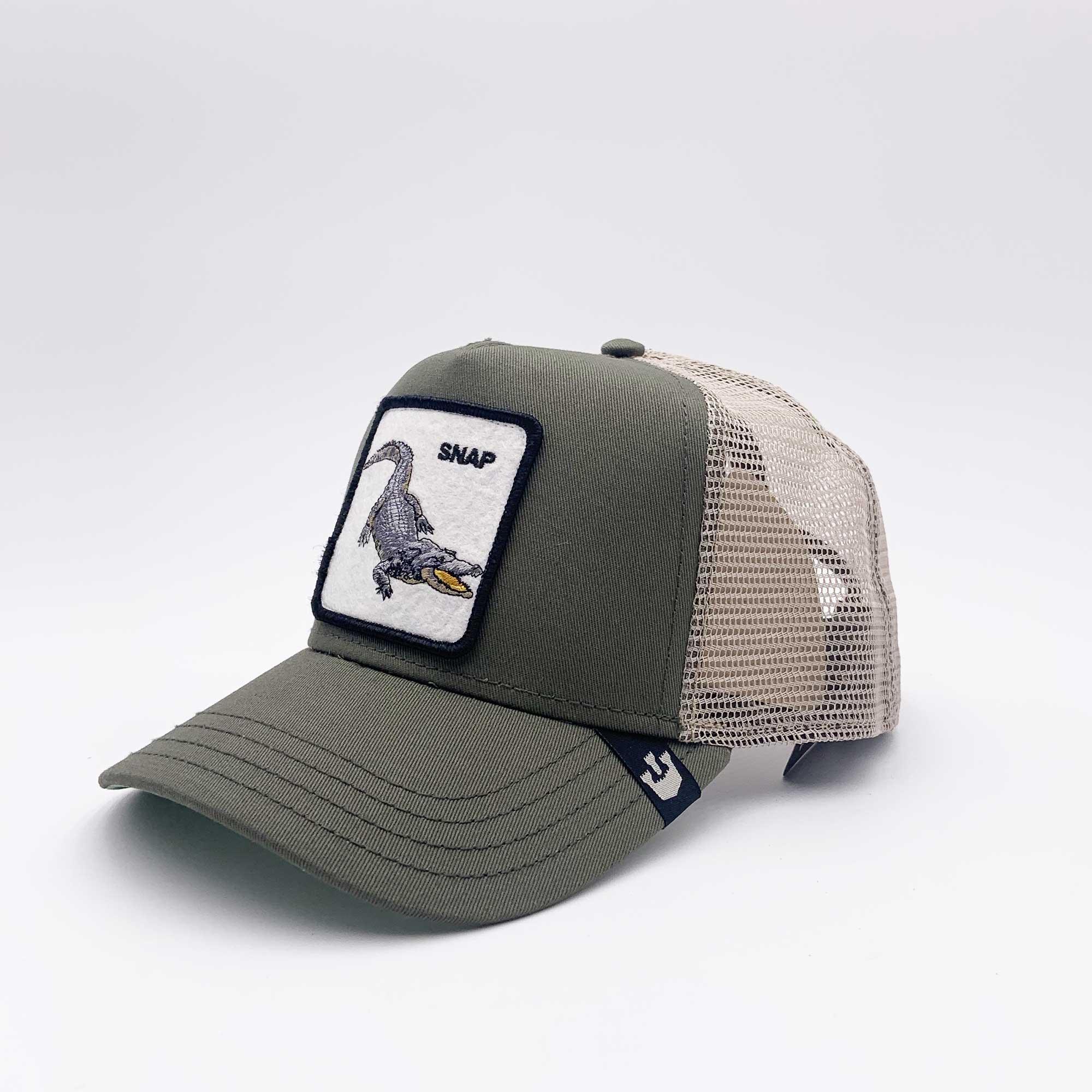 Cappello baseball snap - Verde oliva