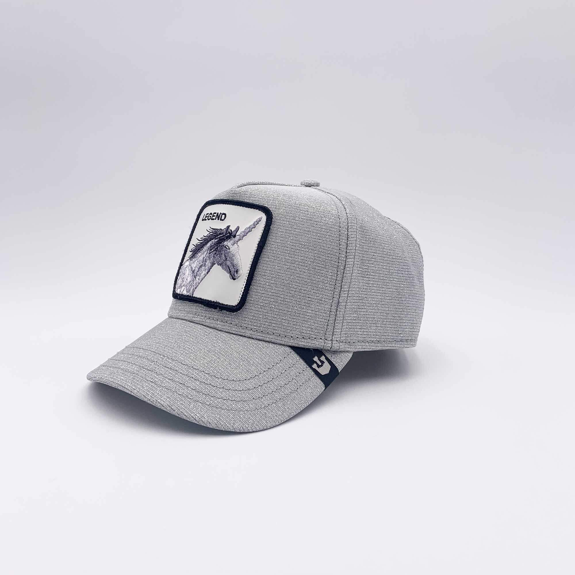 Cappello baseball legend - Silver lurex