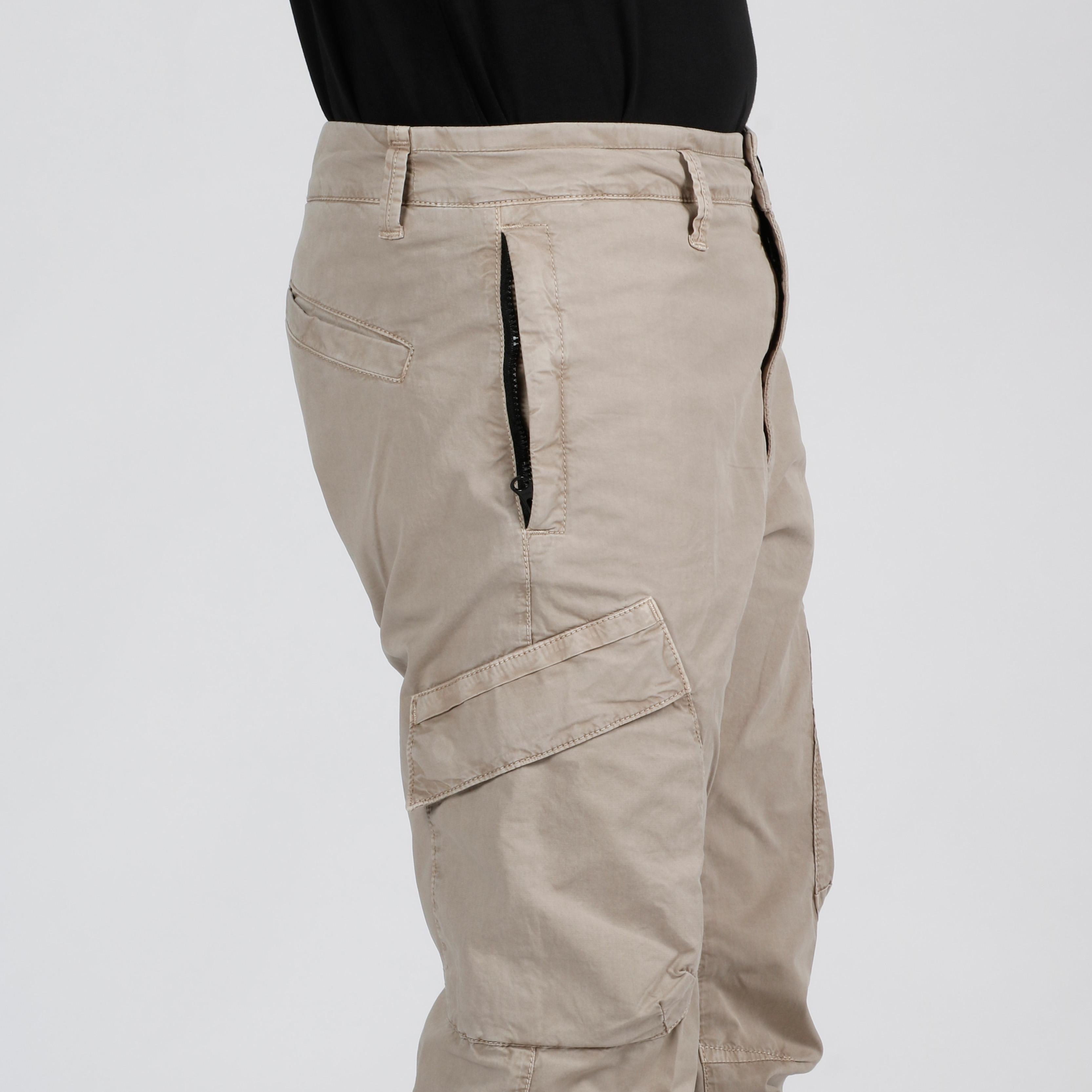 Pantaloni cargo - Sabbia