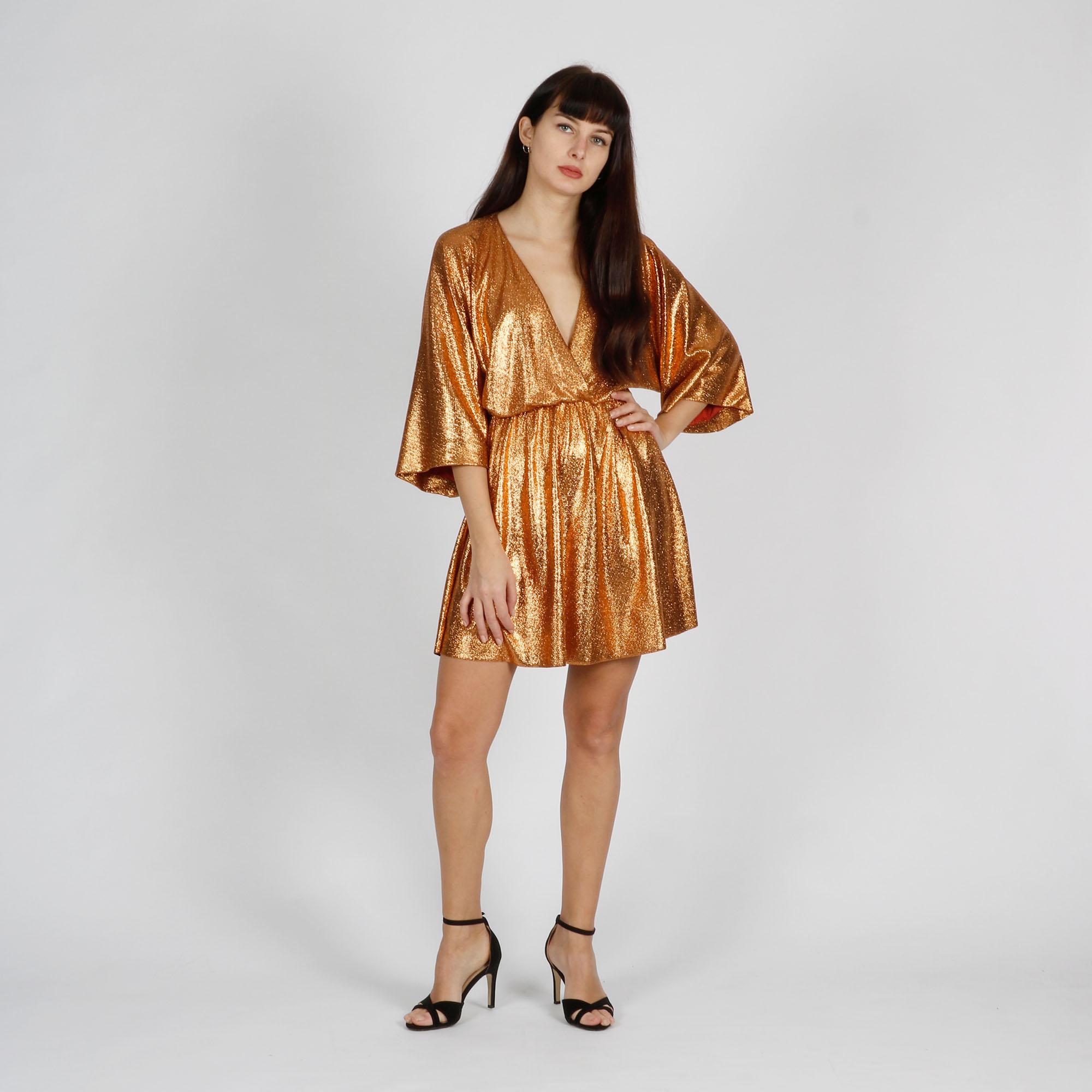 Kimono willa - Arancione