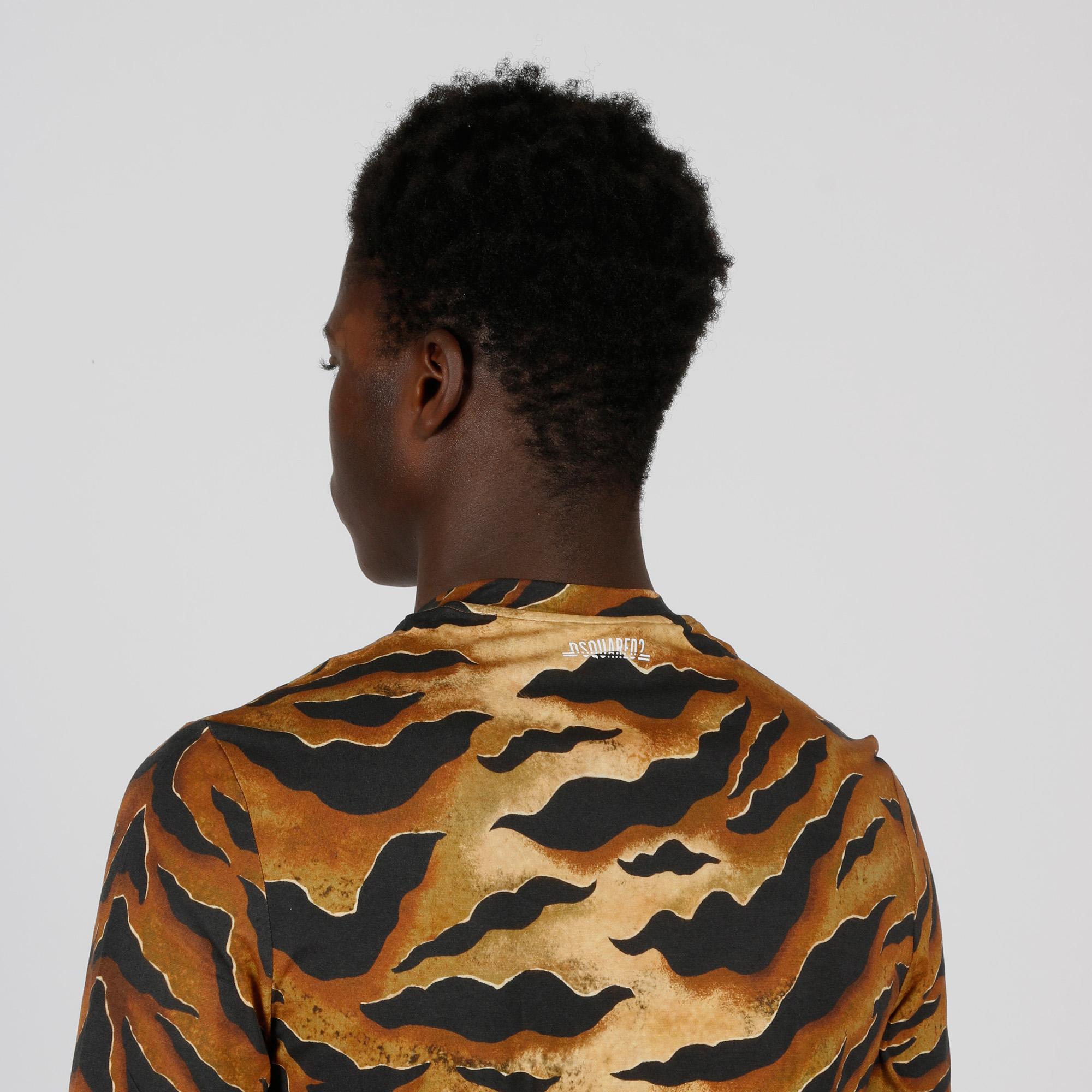 T-shirt fantasia savana - Sabbia