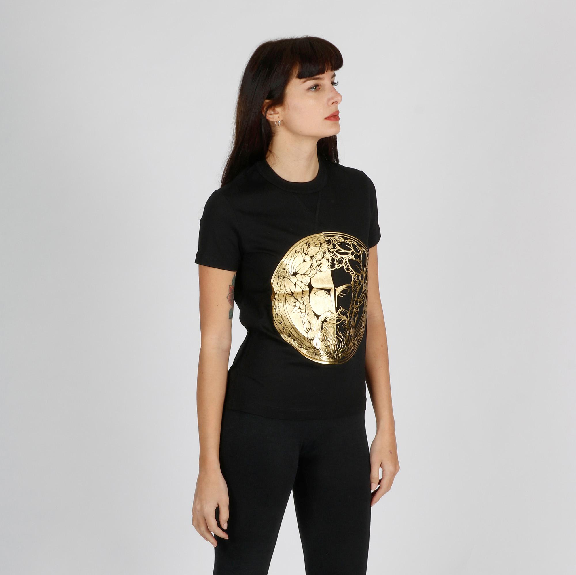 T-shirt medusa - Nero