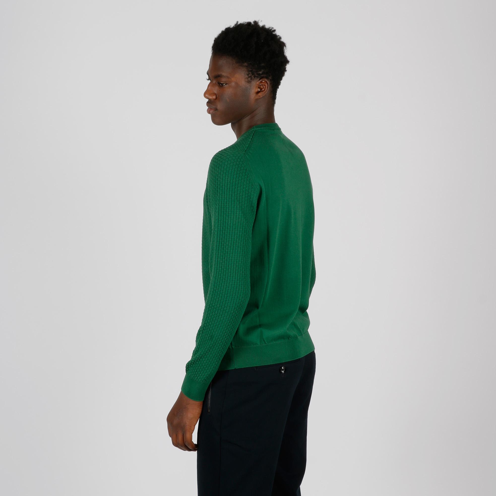 Maglia punto canesto - Verde