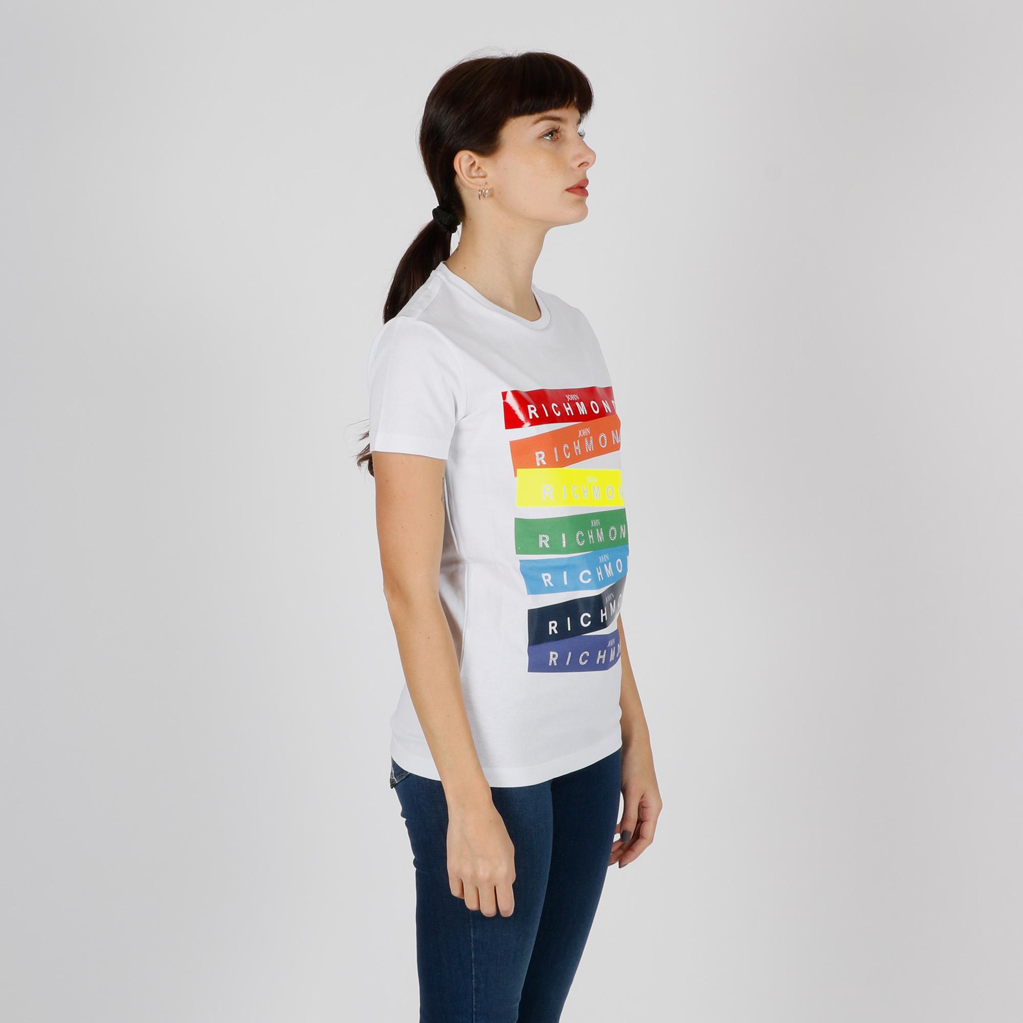 T-shirt schuyler - Bianco