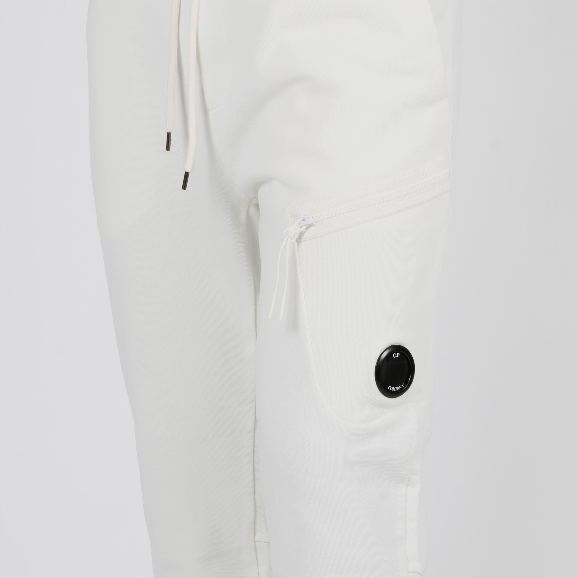Joggers placca logo  - Bianco
