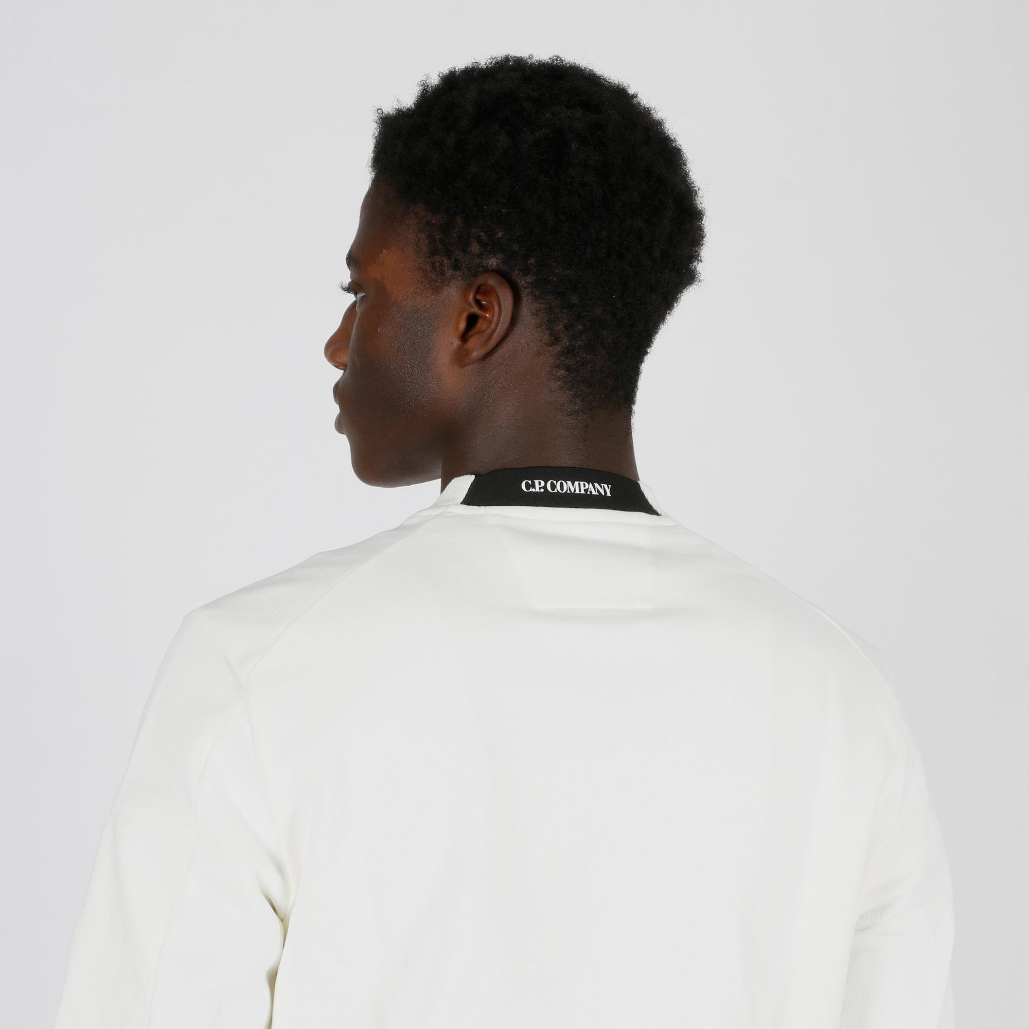 Felpa girocollo - Bianco