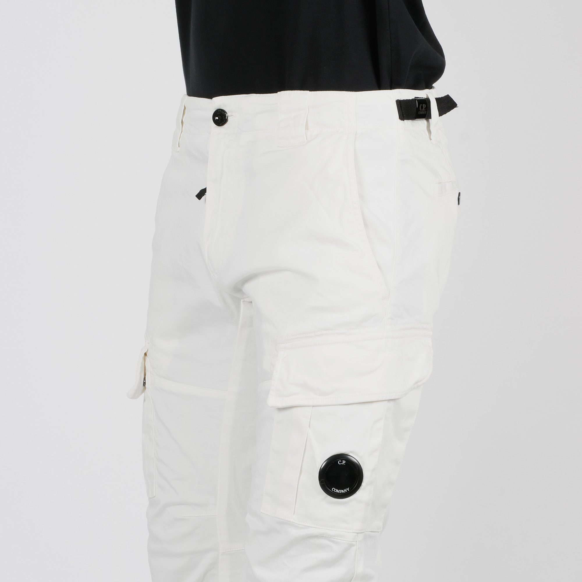 Pantalone cargo - Bianco