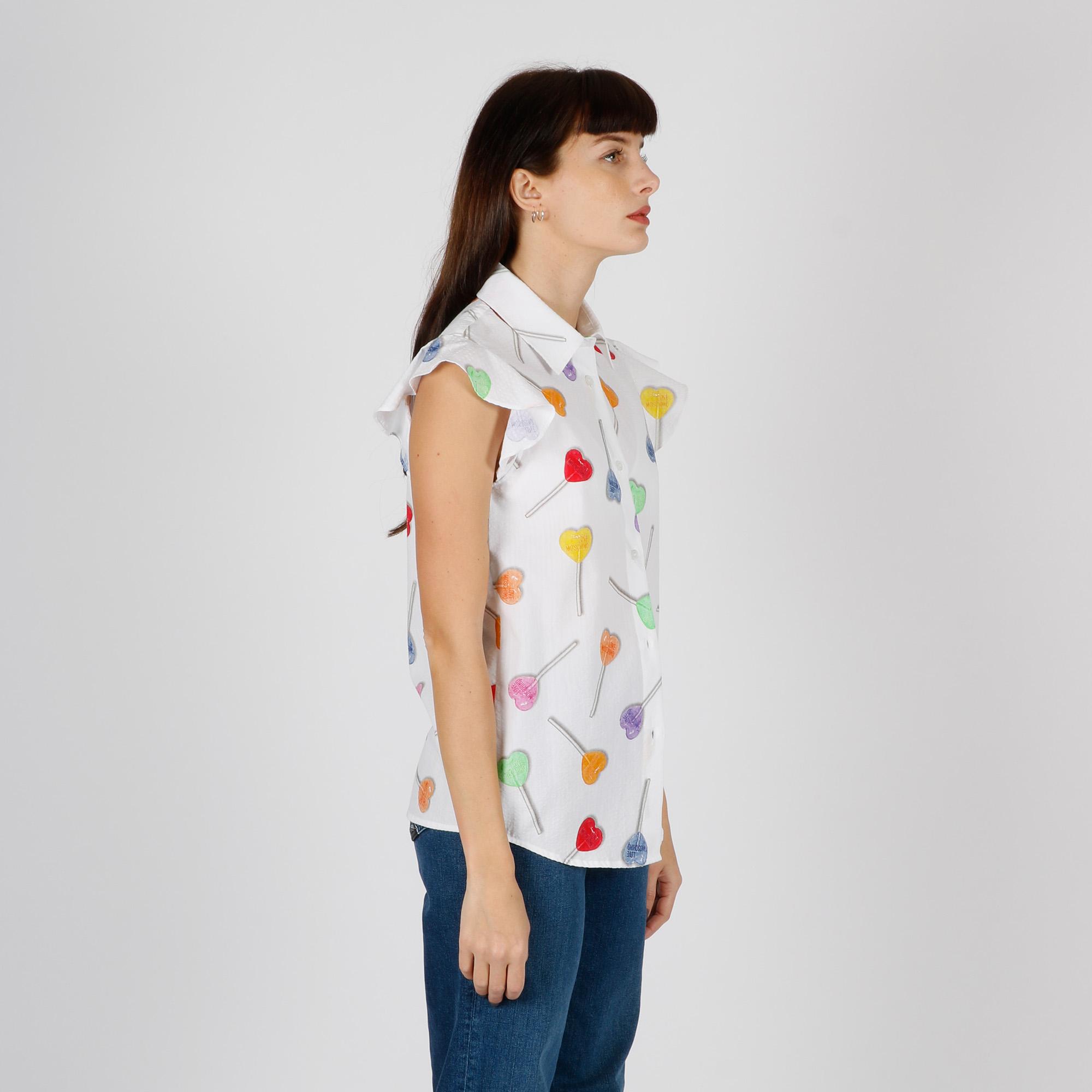 Camicia lollipop - Bianco