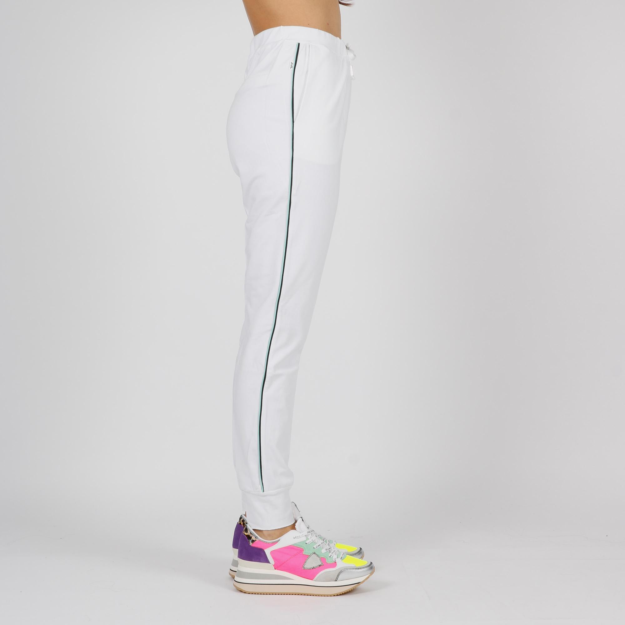 Pantalone fascia laterale - Bianco